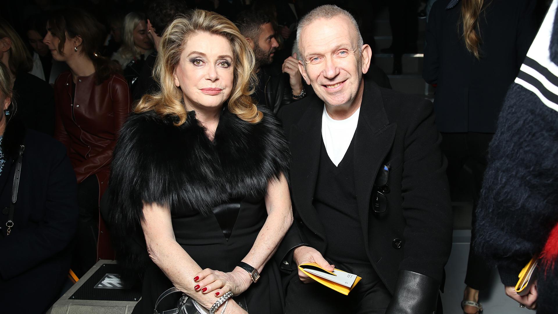 La leyenda de Hollywood- Catherine Deneuve – junto al diseñador Jean Paul Gaultier