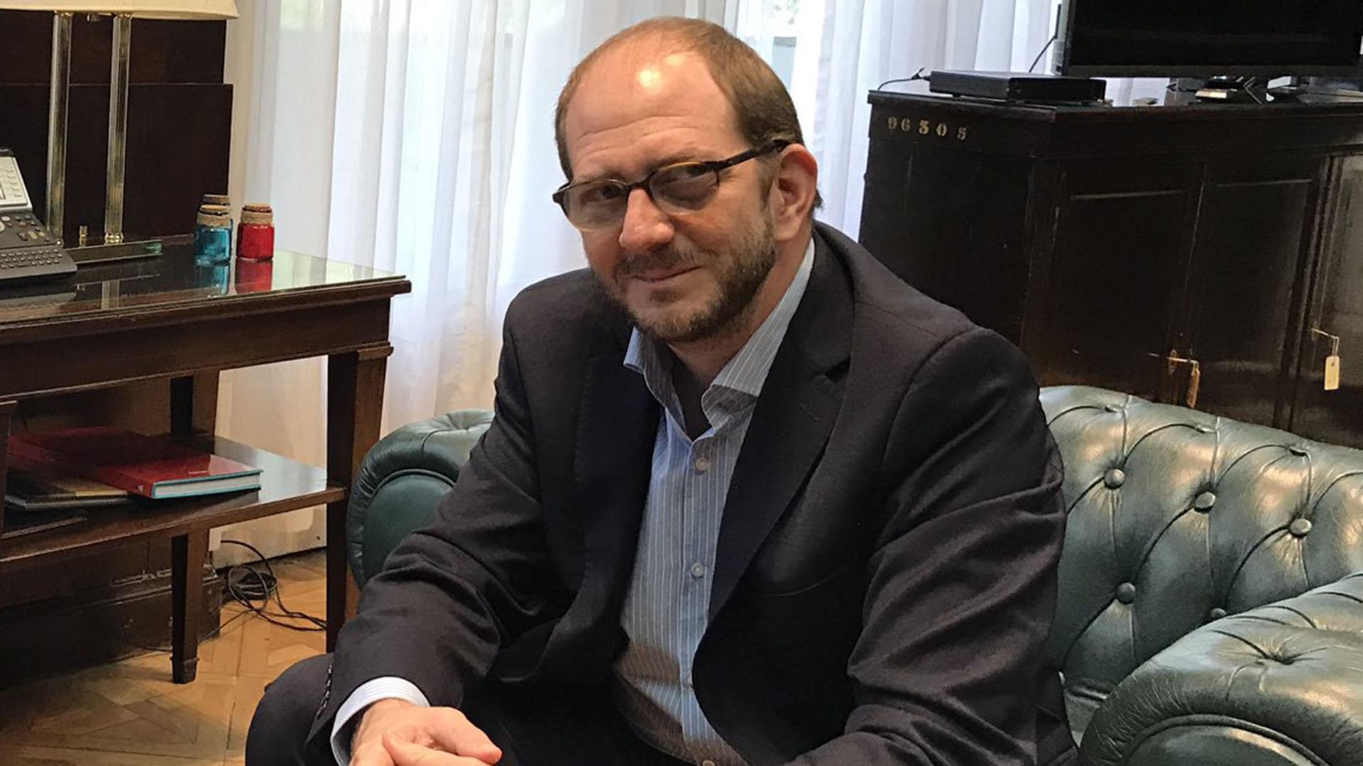 El secretario de Comericio Miguel Braun