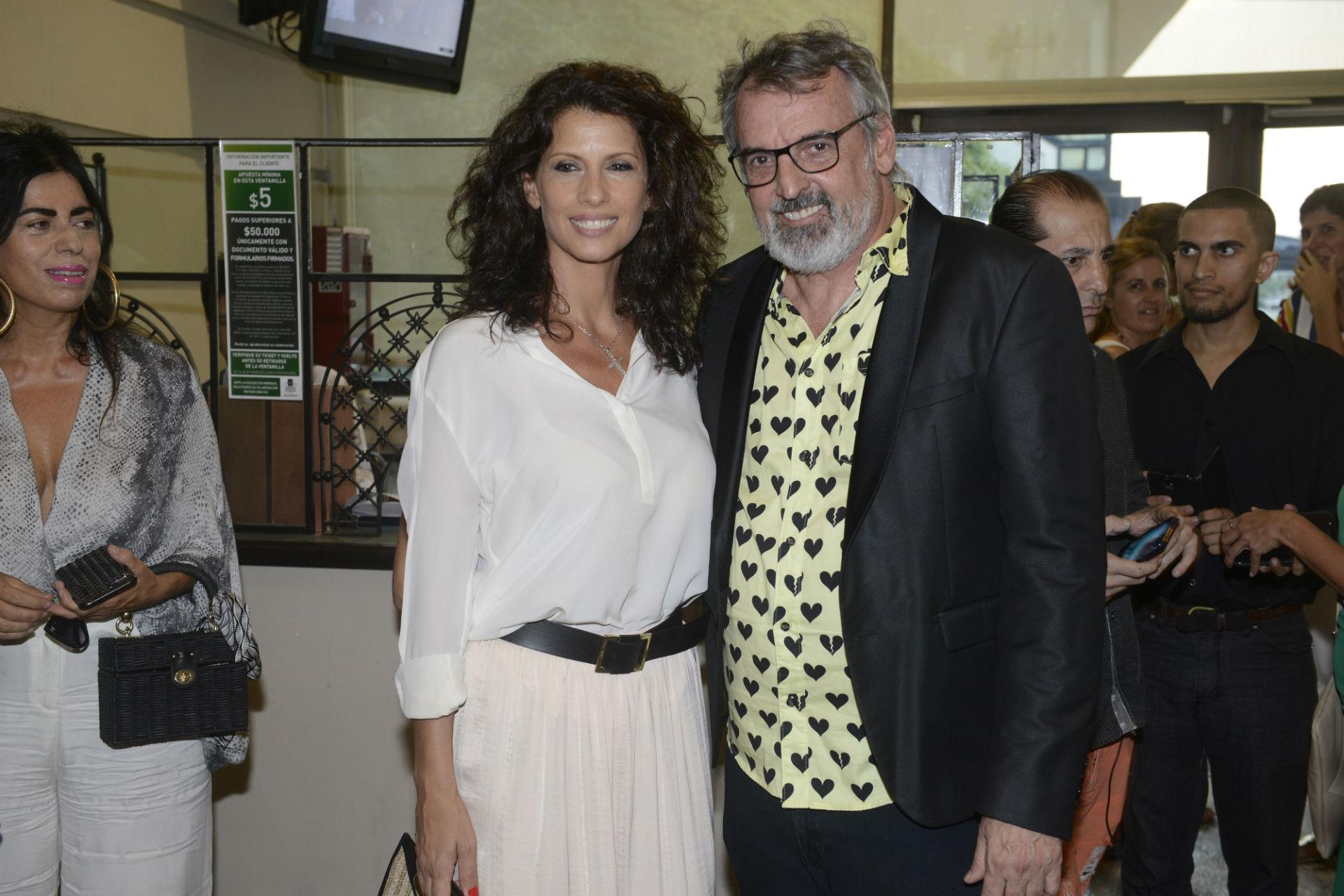 Analía Maiorana y Benito Fernández. (Foto Fabián Mattiazzi/GENTE)