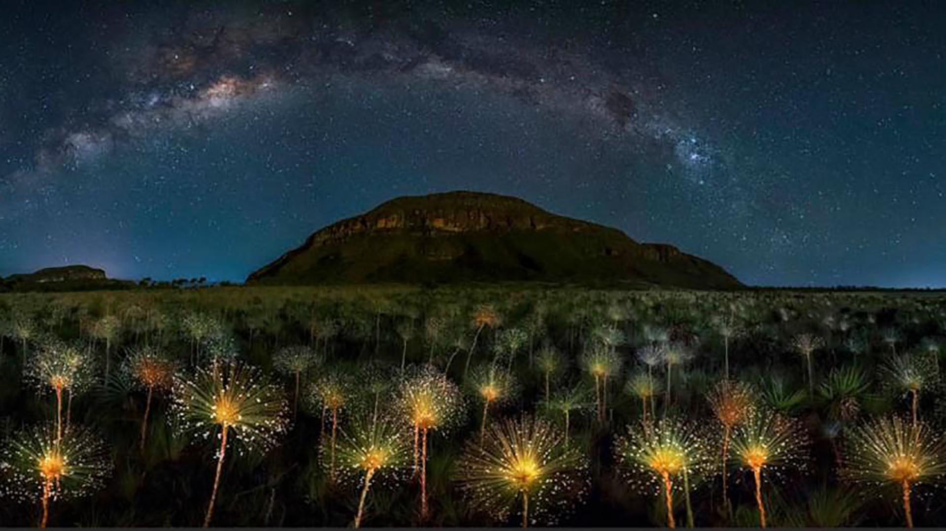 La ganadora en la categoría Long Exposition, es la del Parque Nacional de Veadeiros, en Brasil, de Marcio Cabral