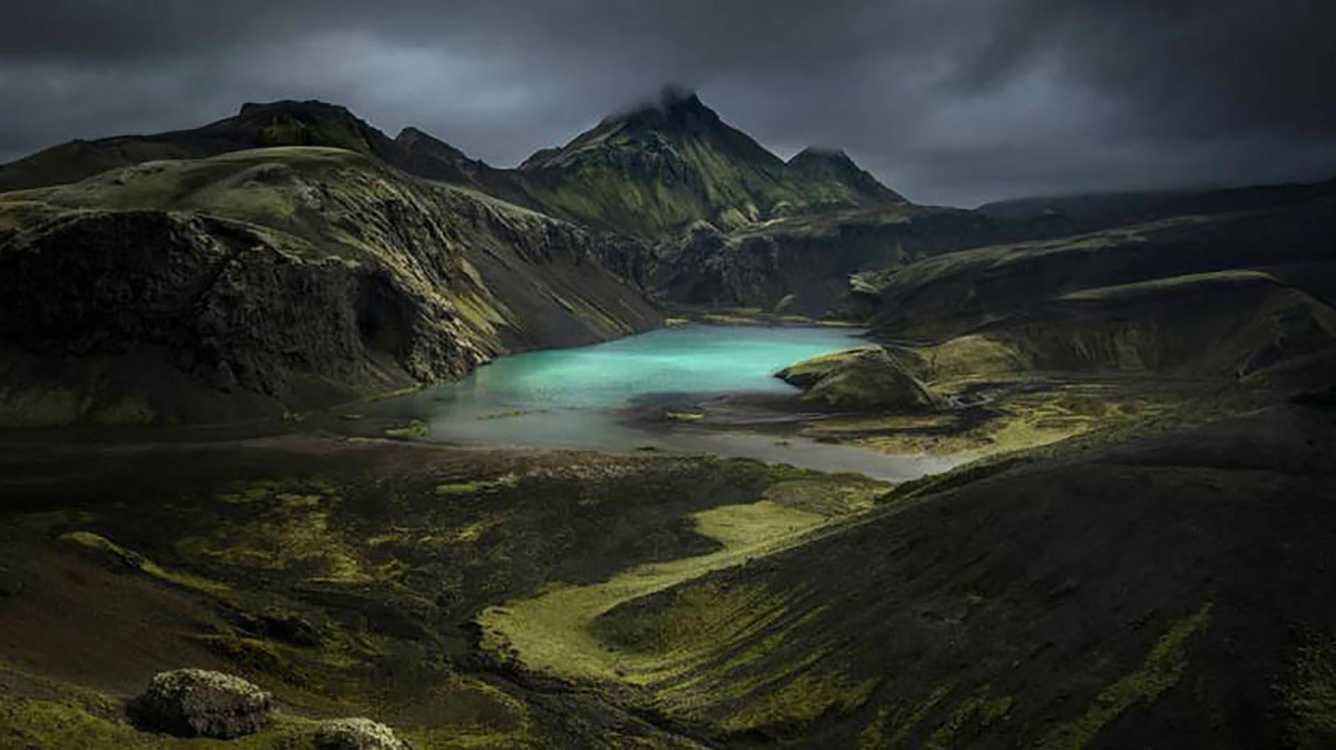 En la categoría Mountains, el ganador fue Alex Nail, con el Southern Highlands, en Islandia