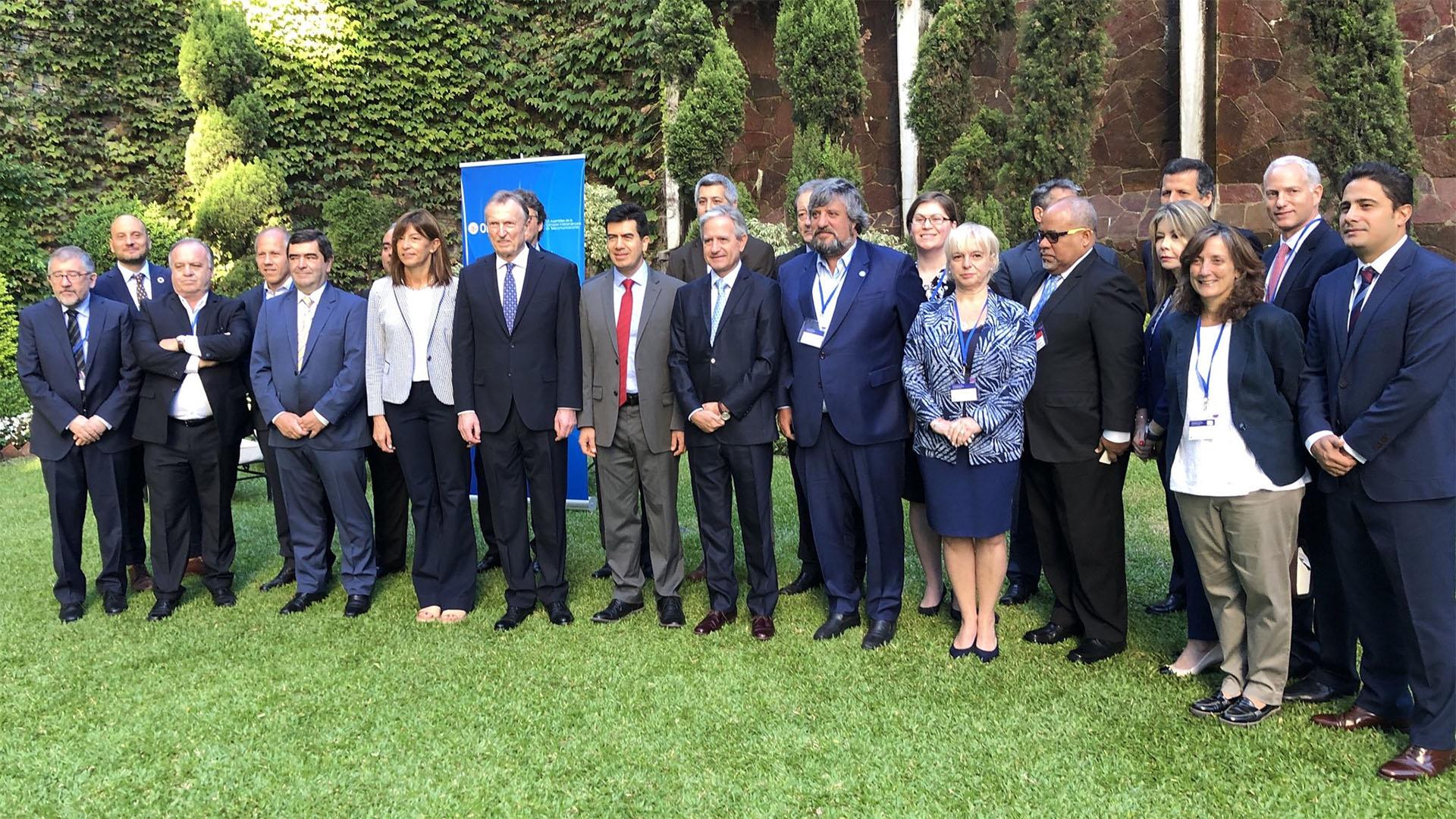 Del evento Citel, que se realiza en Buenos Aires hasta el jueves, participan delegados de 34 países