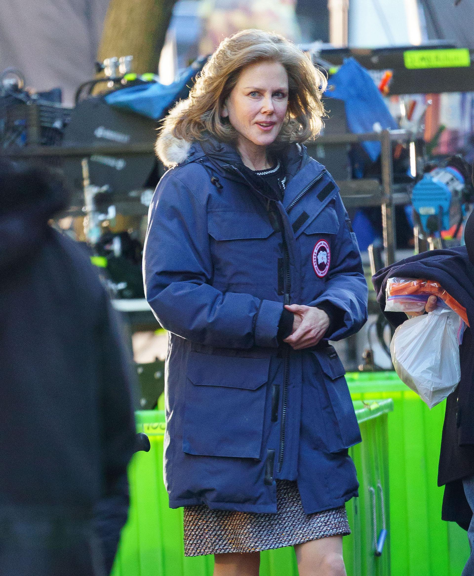 """Nicole Kidman en el set de """"The Goldfinch"""" en New York City"""