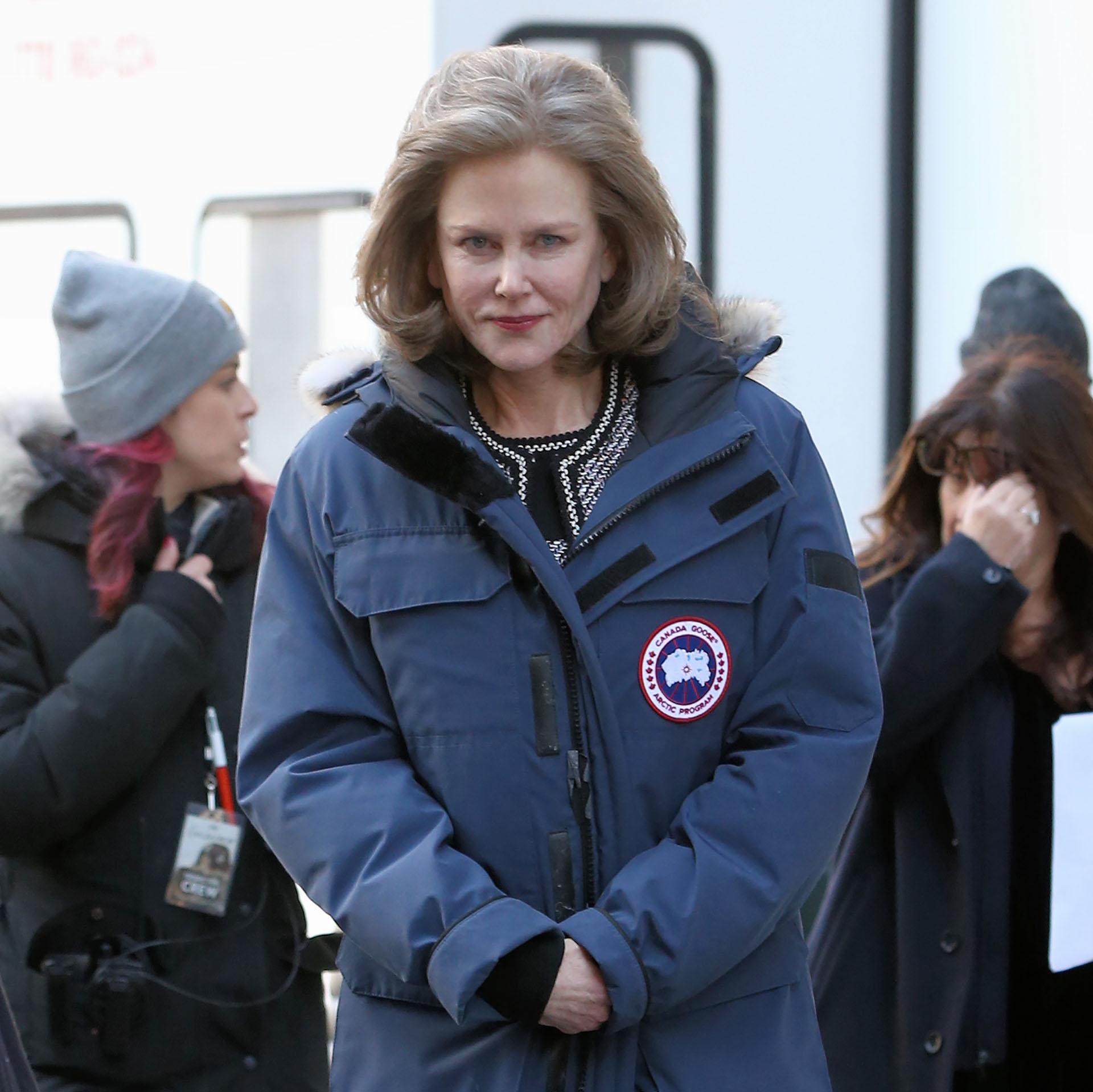 """Así lucirá Nicole Kidman en """"The Goldfinch"""", filme que está rodando en Nueva York (Grosby Group)"""