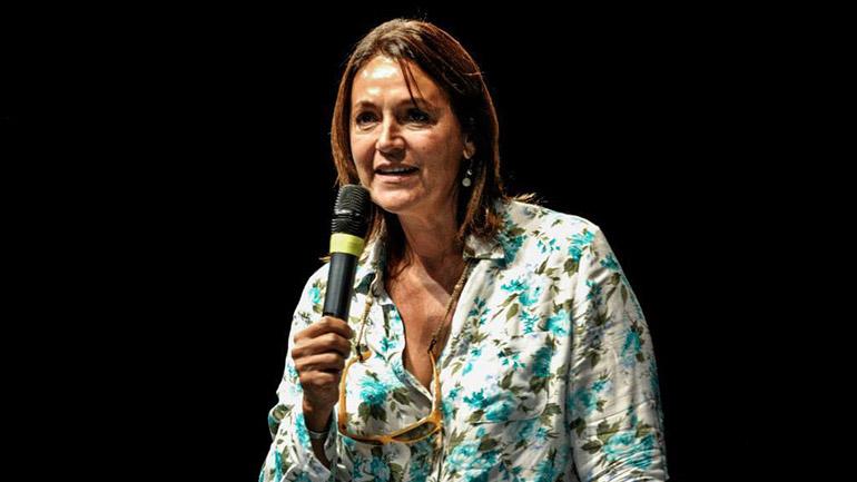 La diputada Marcela Campagnoli