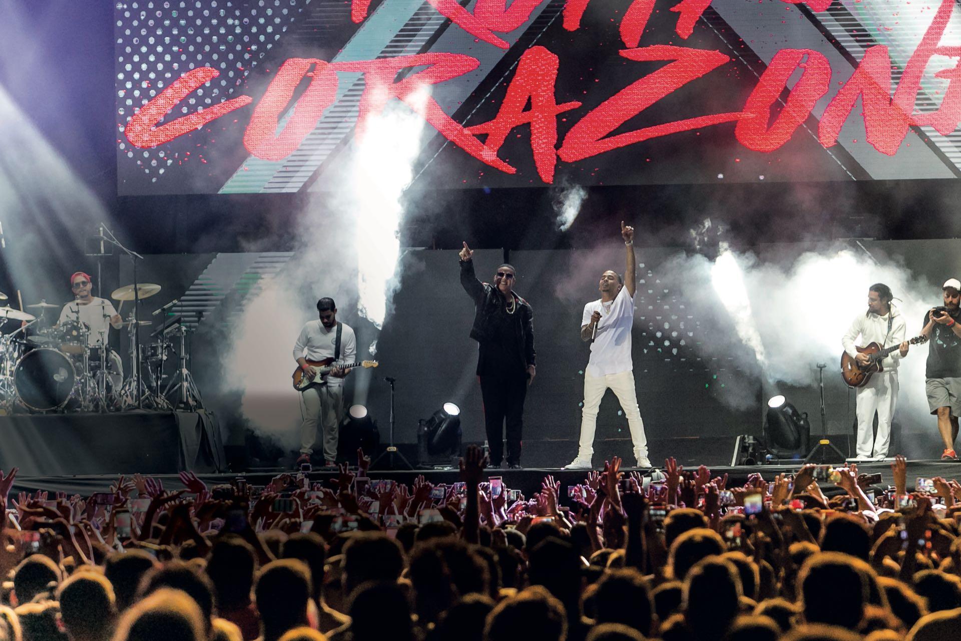Daddy Yankee y Ozuna. (Fotos Diego Soldini/GENTE y Sergio Santillán/Fénix)