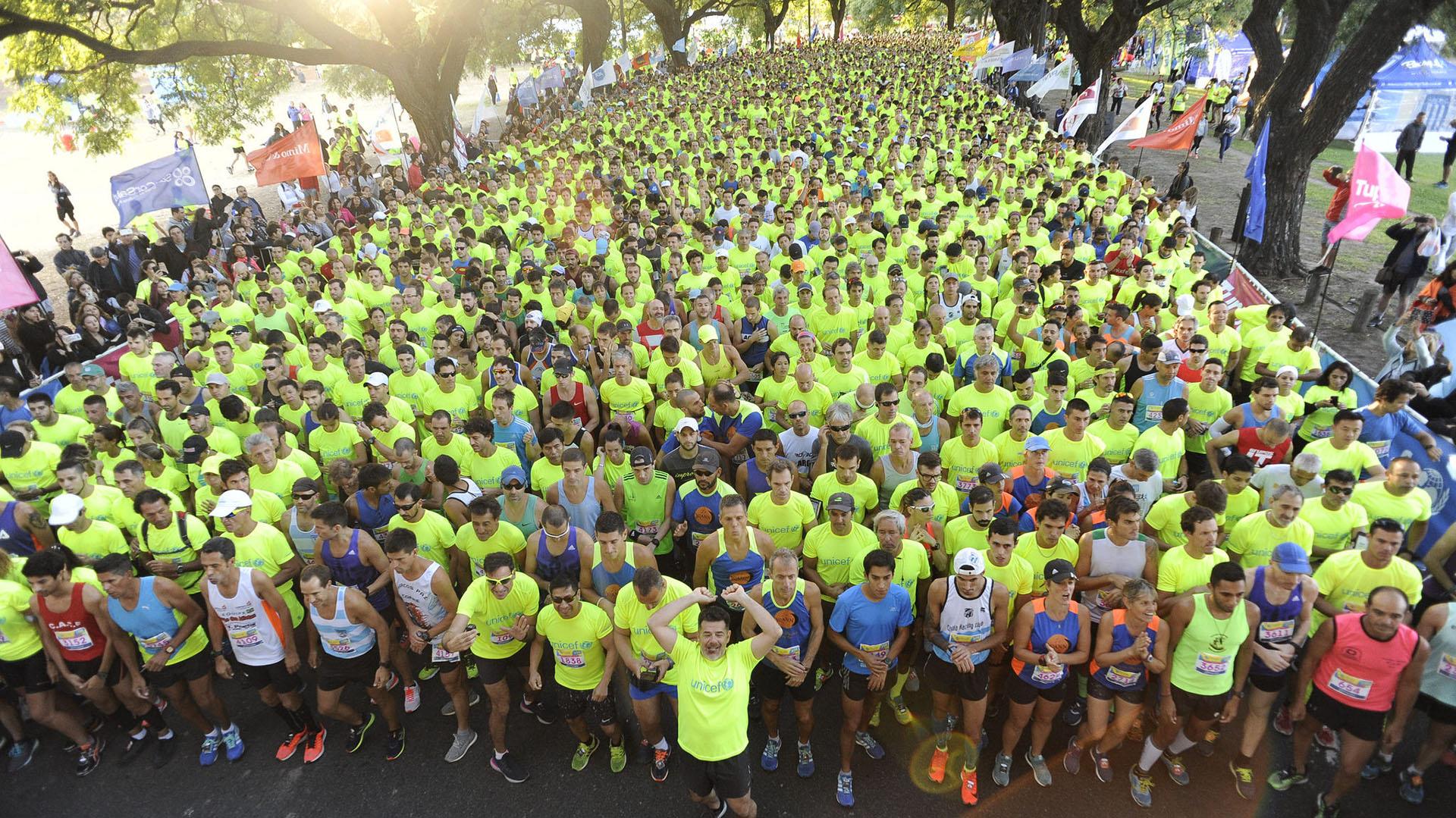 Entre los más de 7 mil corredores se recaudaron 4 millones de pesos (Prensa Unicef)