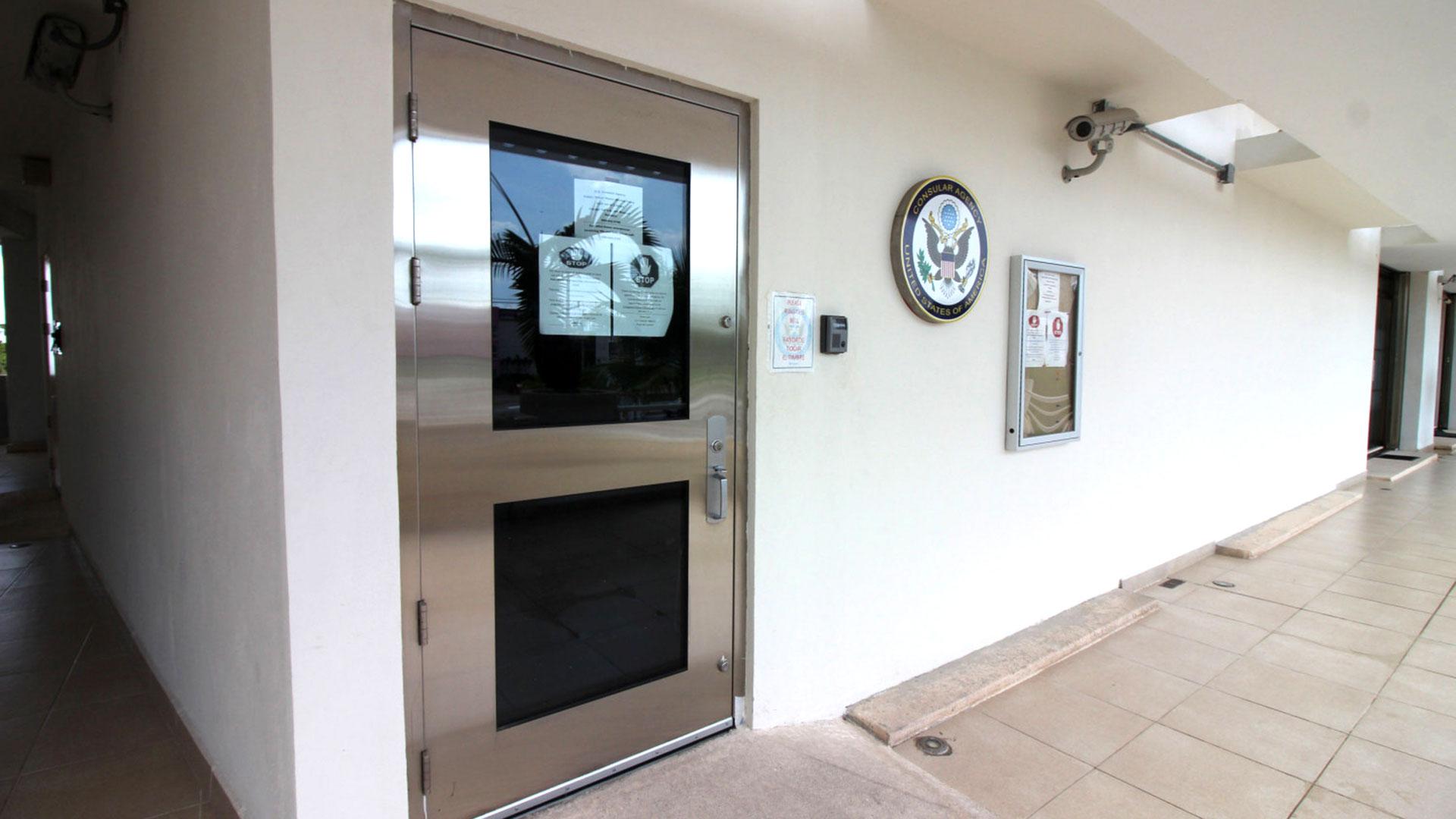 El consulado de Estados Unidos en Playa del Carmen estuvo cerrado durante cinco días