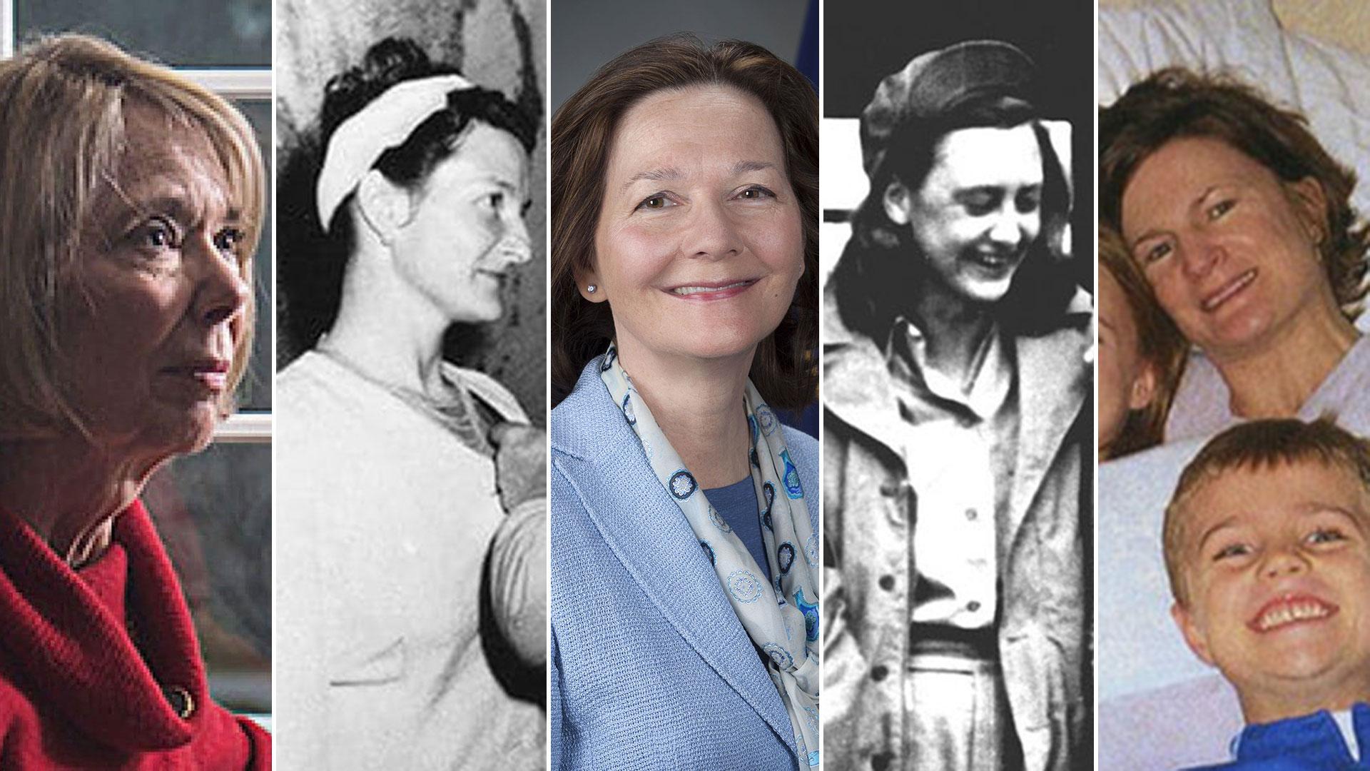 En el centro, Gina Haspel, la primera mujer en la historia en dirigir la CIA. Alrededor suyo, otras agentes de inteligencia célebres en la agencia