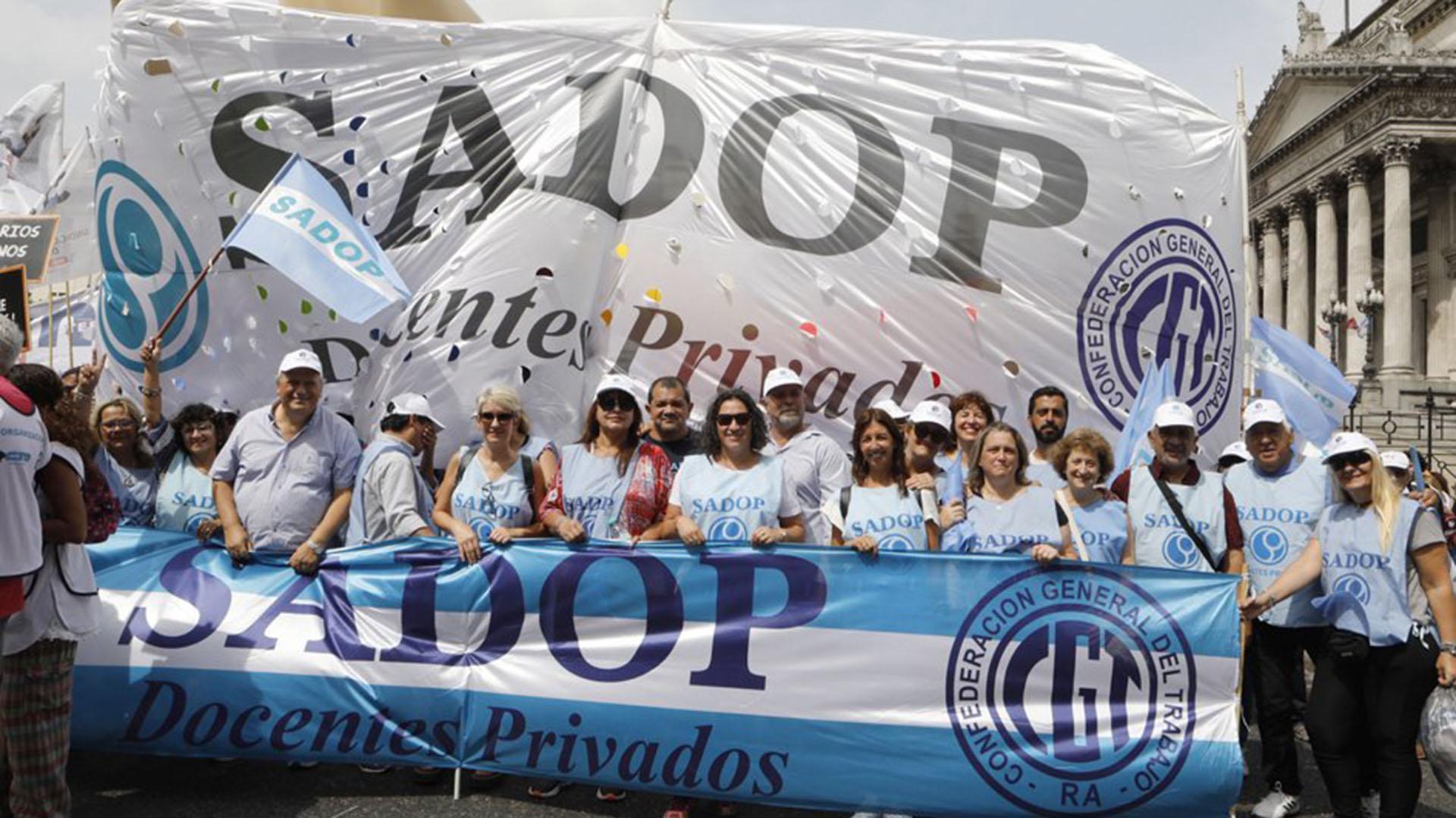 SADOP fue el único en judicializar el reclamo contra el decreto 52