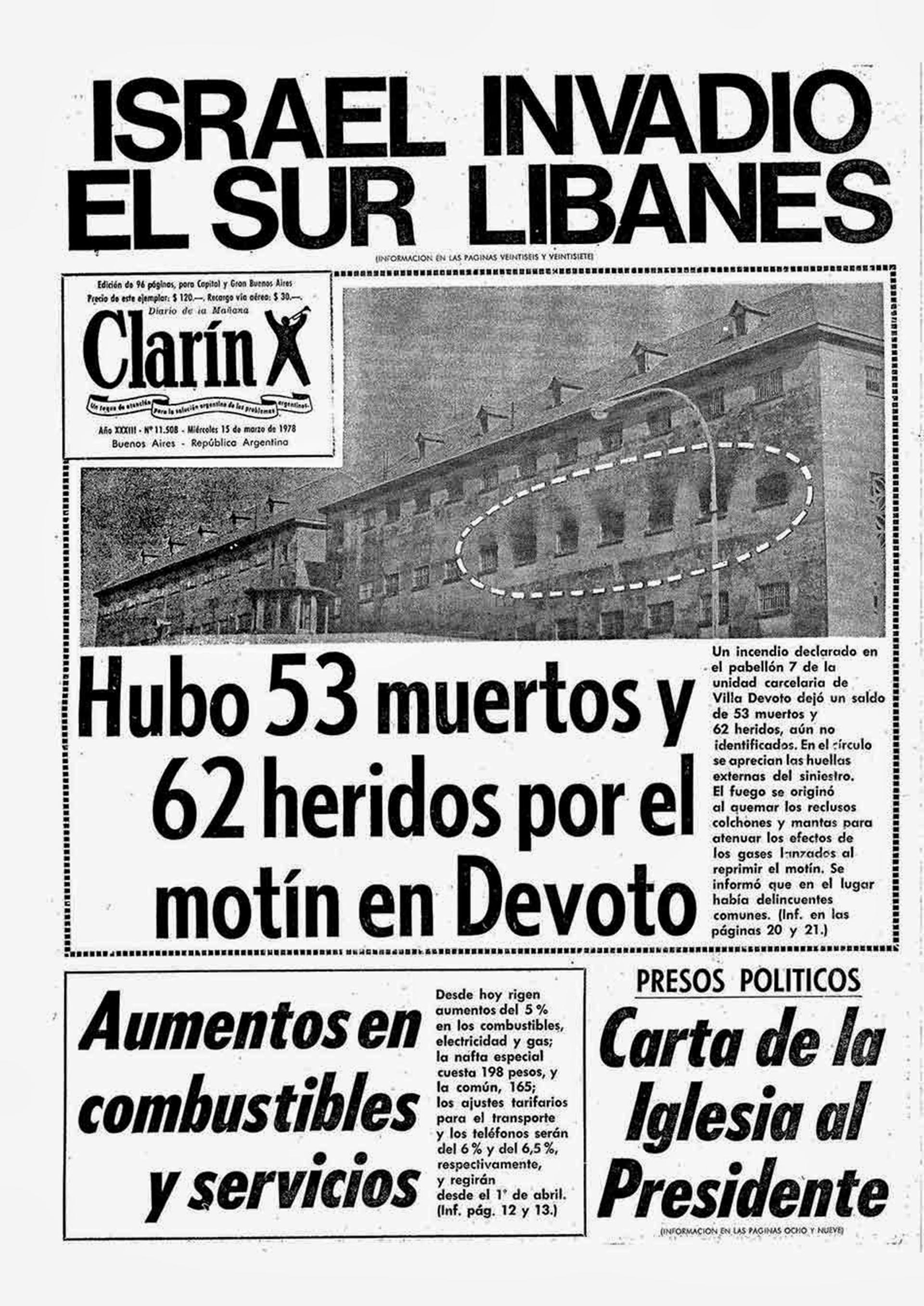 """Clarín y la masacre. Cardozo asegura: """"Cuandome fueron a tomar declaración,me advirtieron: 'Fíjese bien en lo que dice, porque usted tiene que volver a la cárcel"""""""