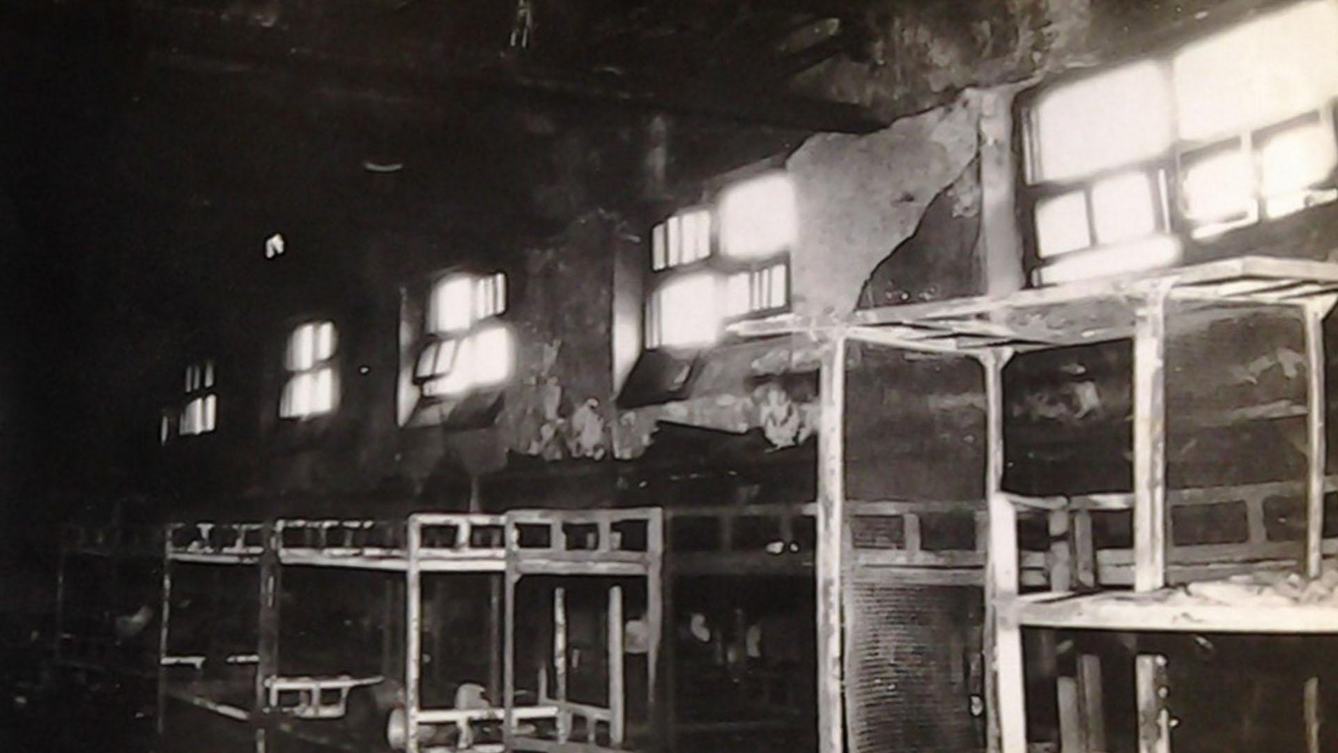 La cárcel estaba superpoblada, en el pabellón había 161 presos y camas para 70