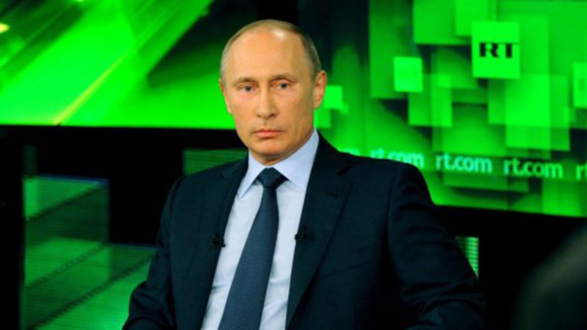 RT es acusado de participar en campañas de desinformación por órdenes del gobierno de Putin
