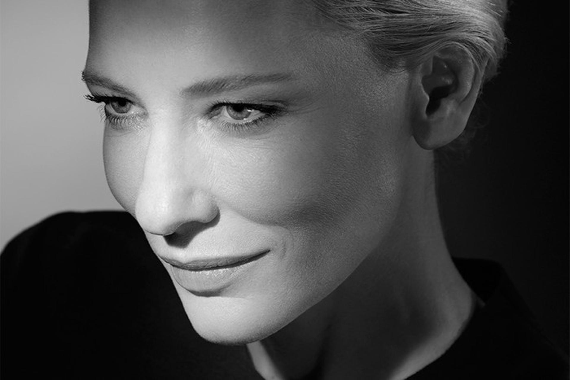 Fotografía de Catherine Élise Blanchett, actriz de cine y teatro australiana