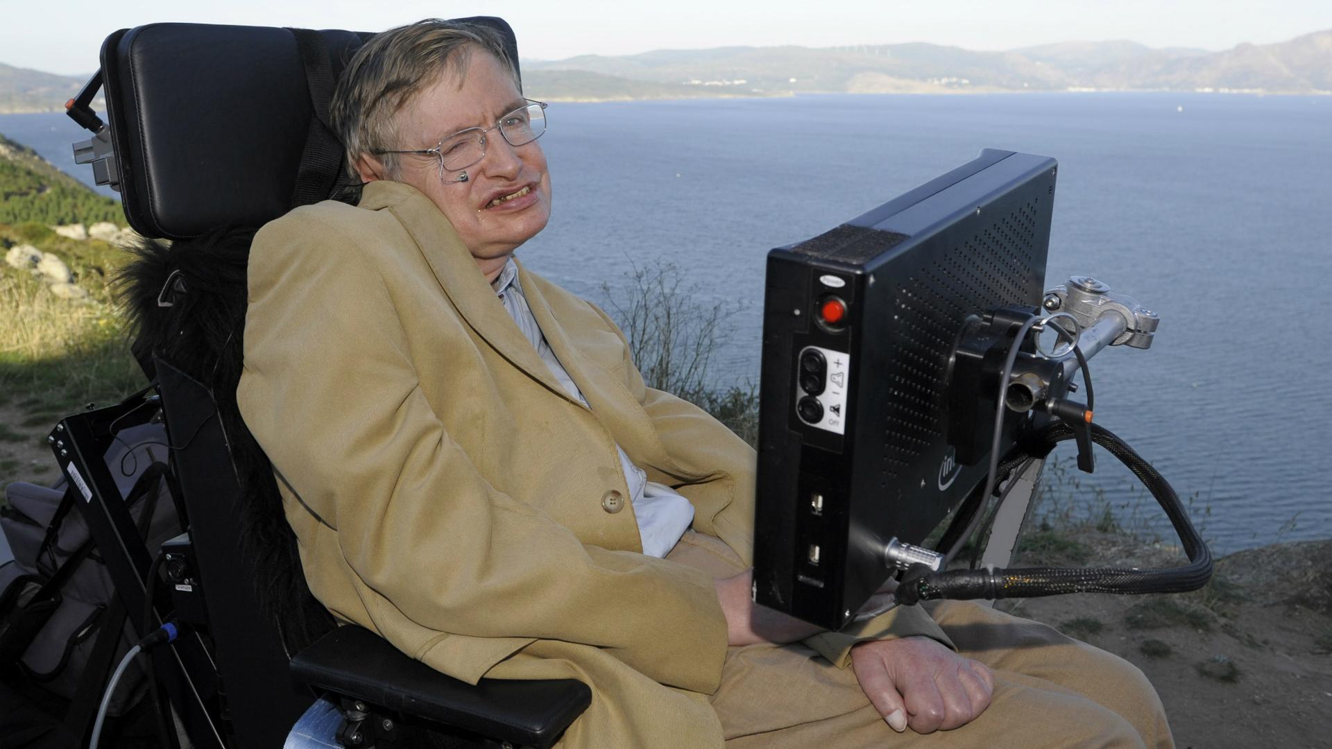 Stephen Hawking. (AFP)
