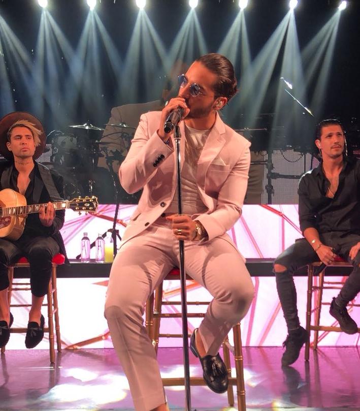 """En vivo: Maluma presenta la versión para América Latina de """"Colors"""", la canción del Mundial Rusia 2018"""