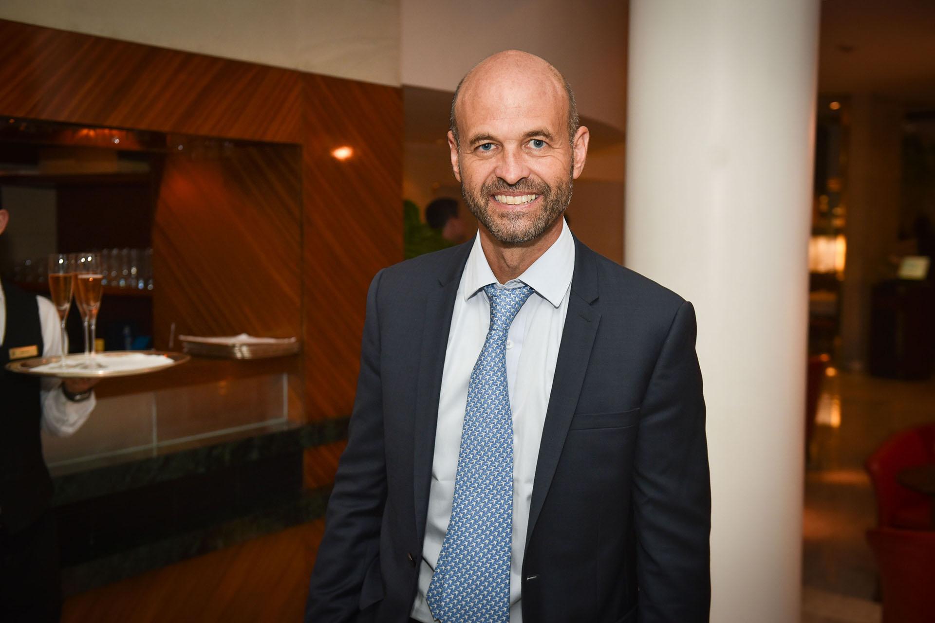 Guillermo Dietrich, ministro de Transporte de la Nación