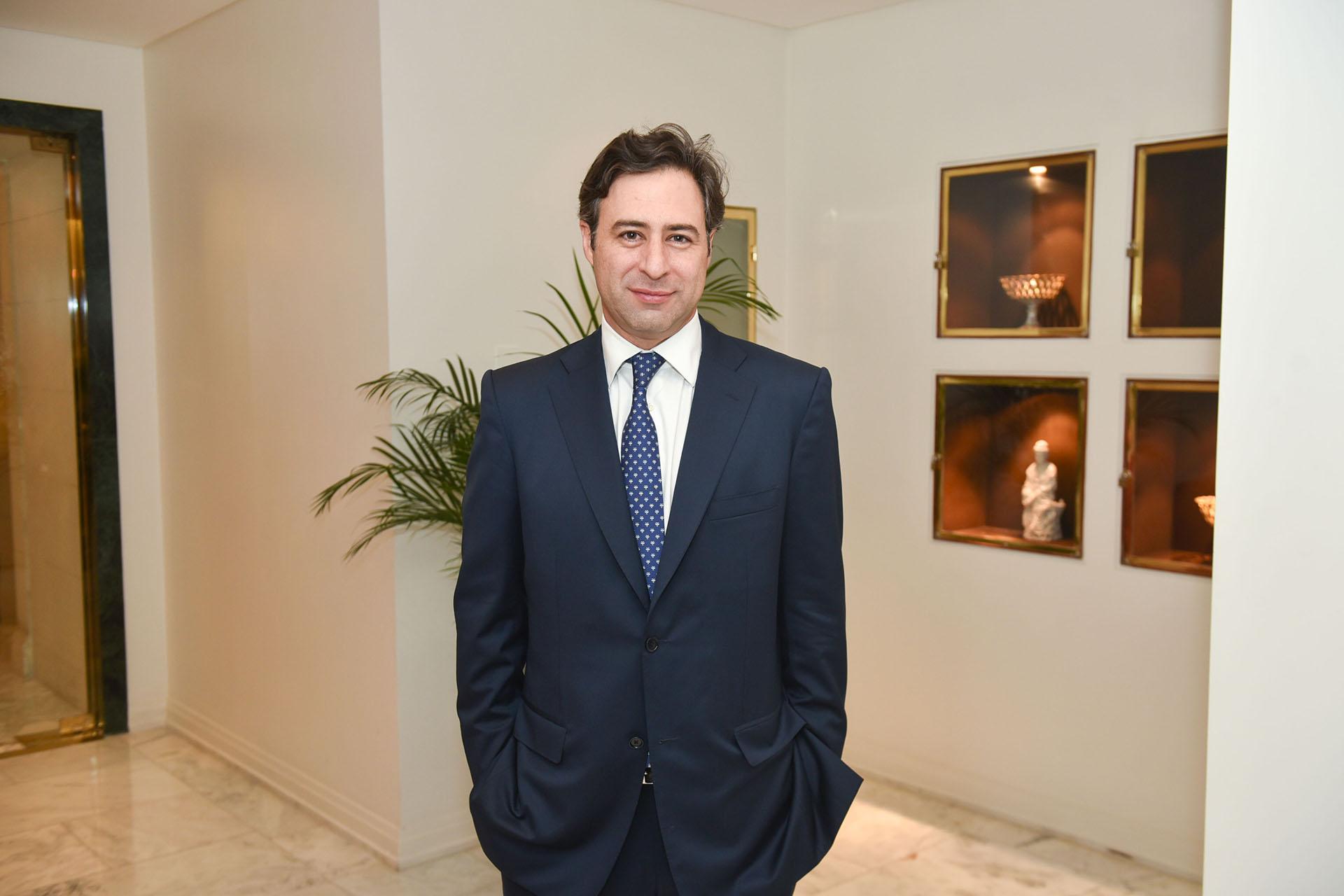 Martín Eurnekian, CEO de Corporación América Airports y presidente de AA2000