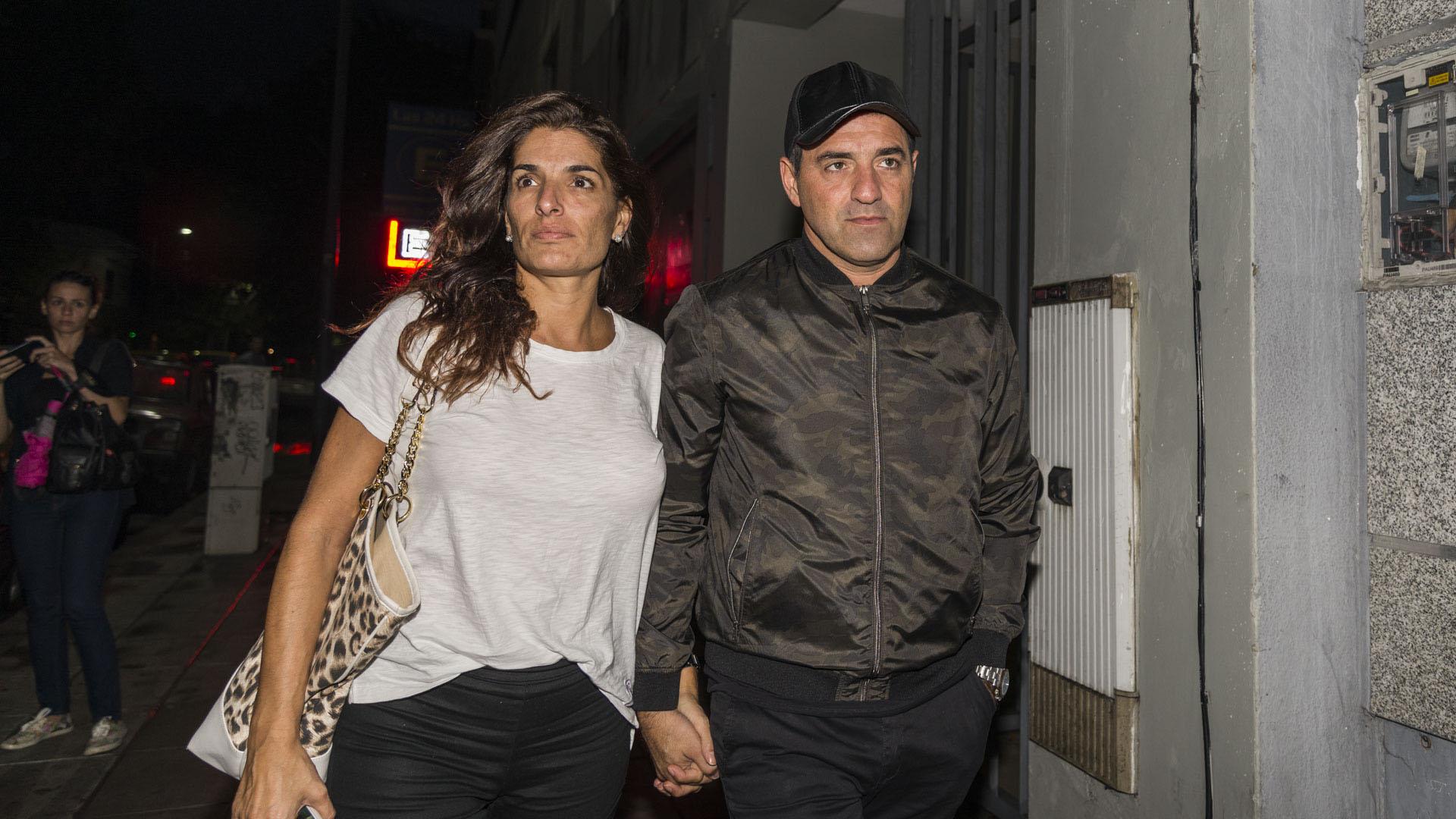 Mariano Iúdica y su mujer Romina Propato
