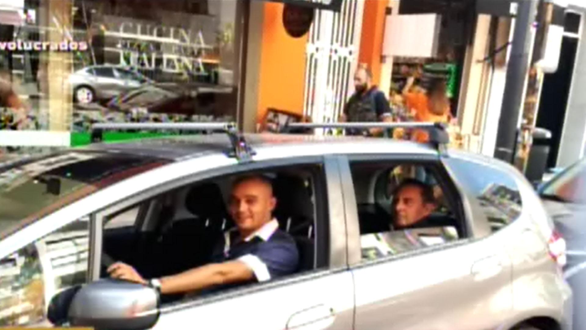 Albertito, trabajando como chofer de Uber