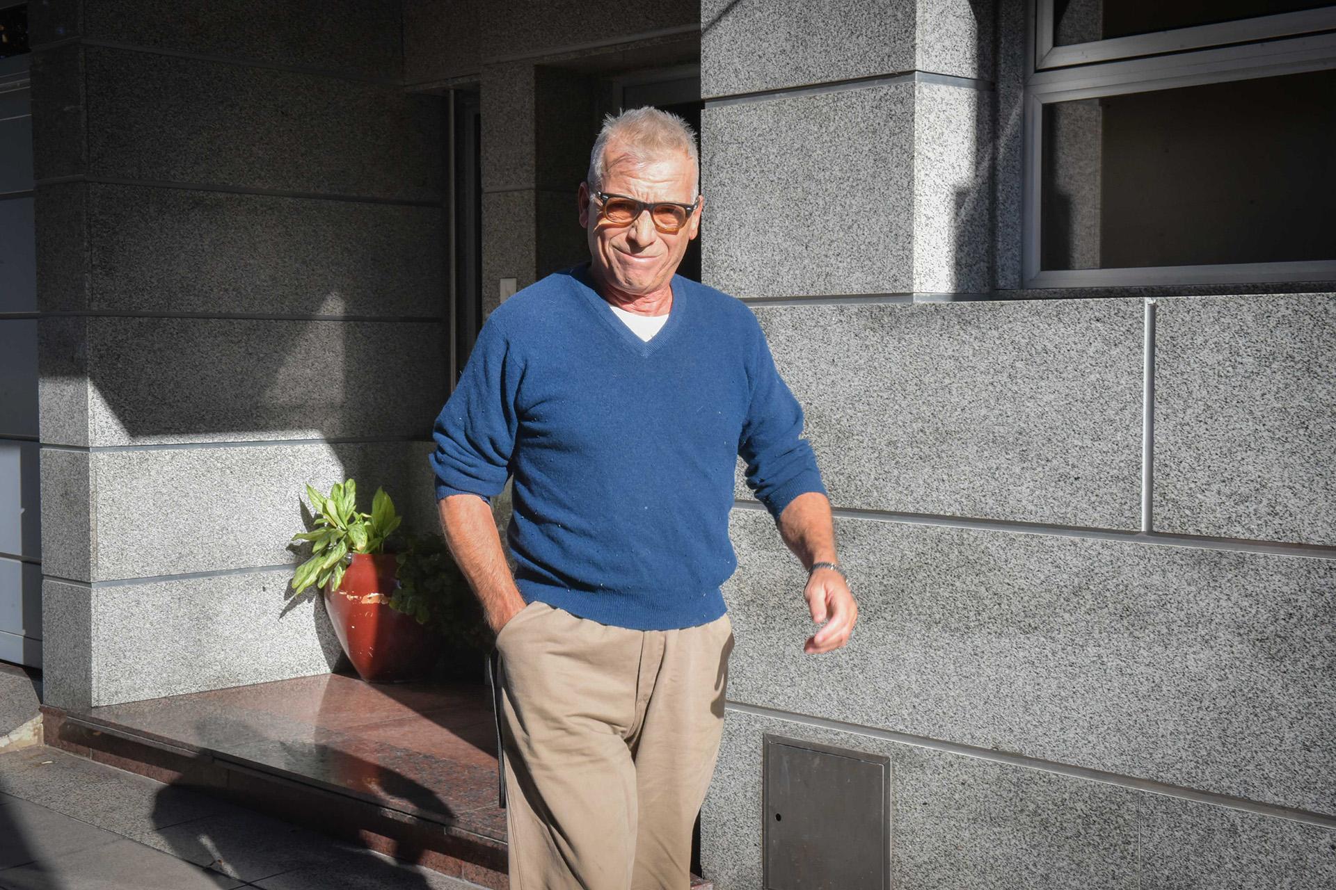 Gerardo Romano fue uno de los famosos que asistió