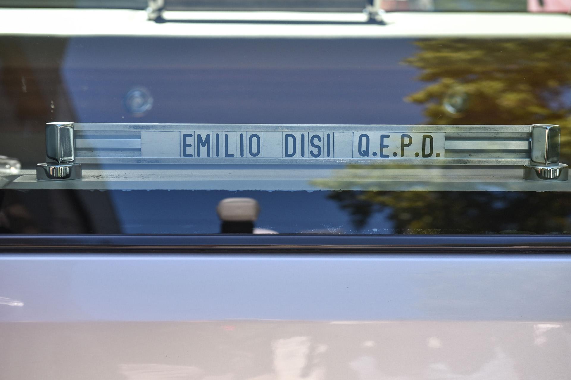 Una de las imágenes del último adiós a Emilio Disi(Guille Llamos)