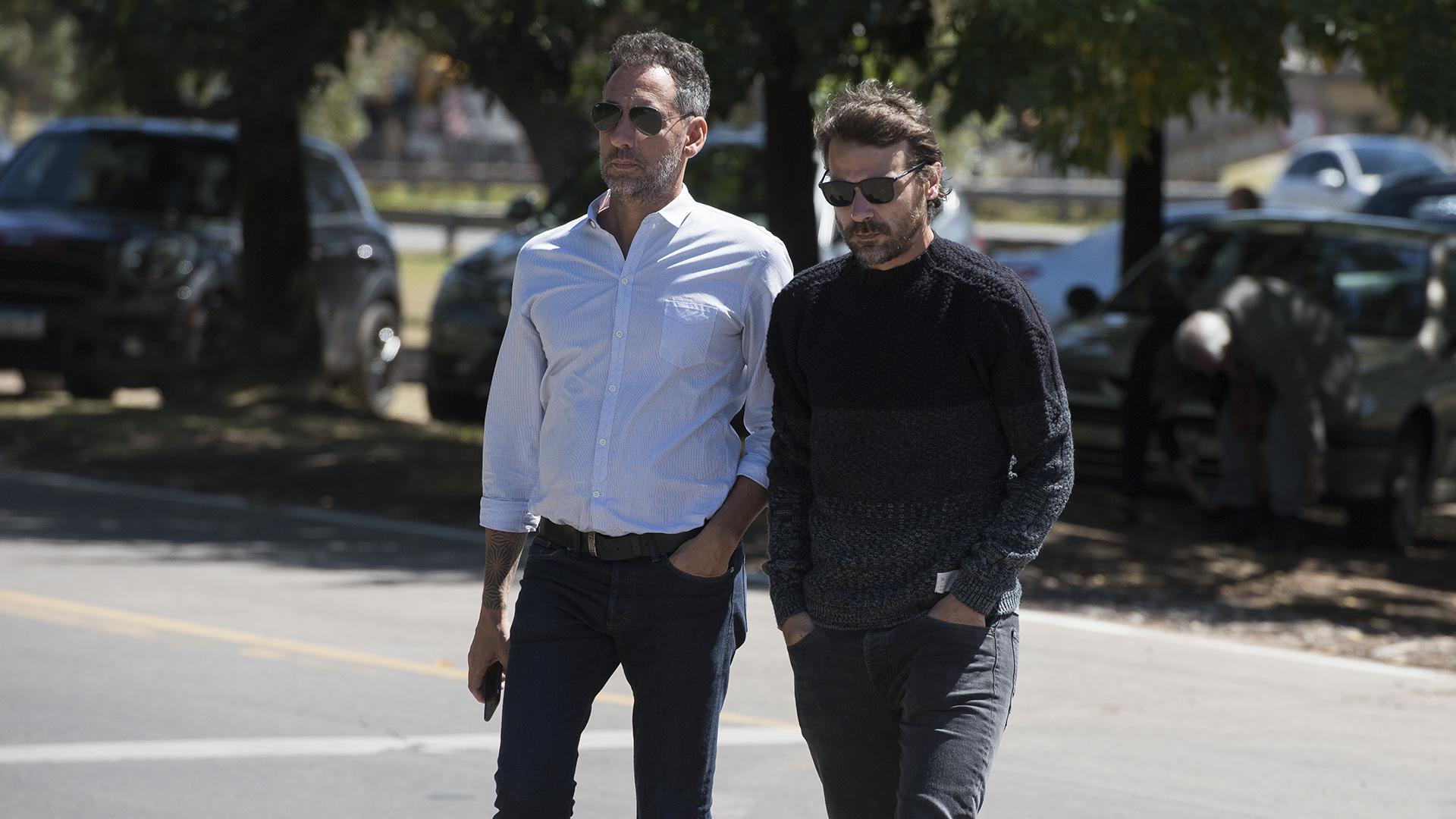 Ezequiel Corbo y Pedro Alfonso