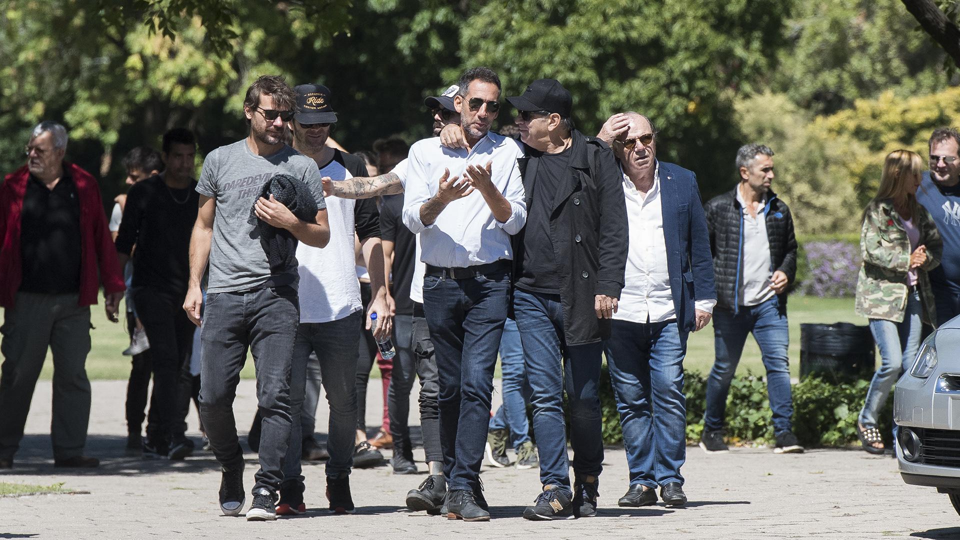 Pedro Alfonso, Benjamín Amadeo, Ezequiel Corbo y Miguel Ángel Rodríguez, conmovidos por la muerte del querido humorista