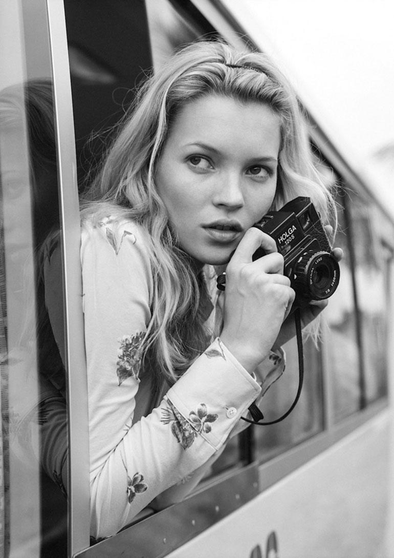 Kate Moss por Bruce Weber