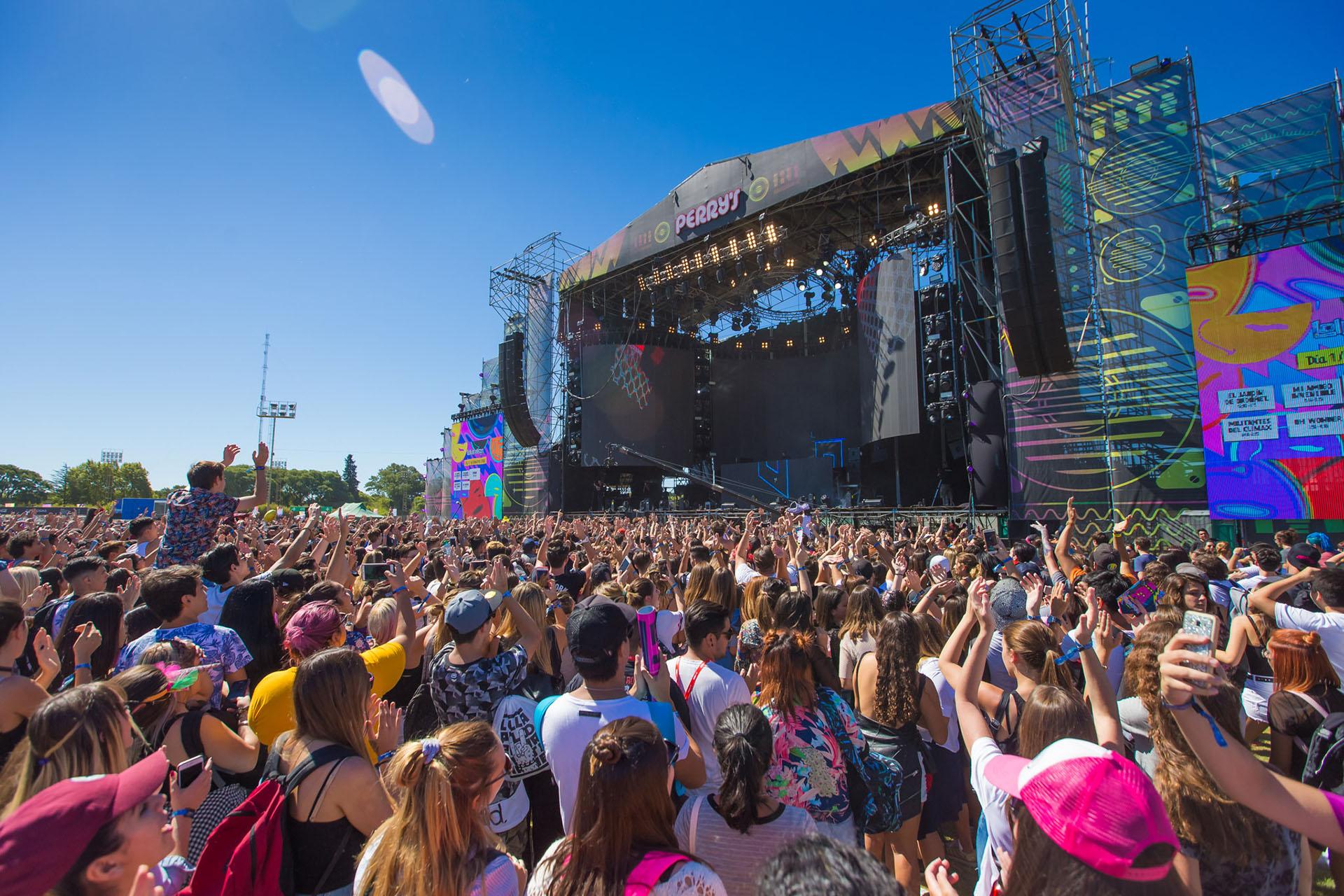 El público colmó la primera fecha del Lollapalooza