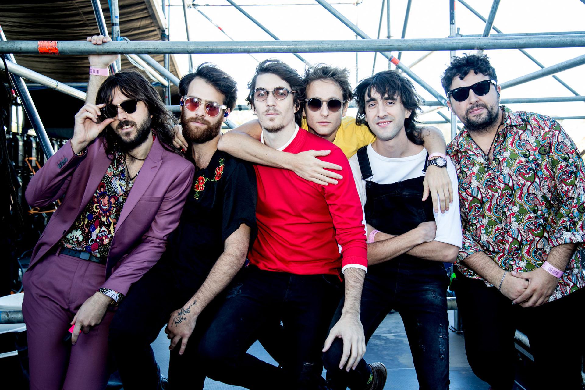 La banda Indios en el Lollapalooza