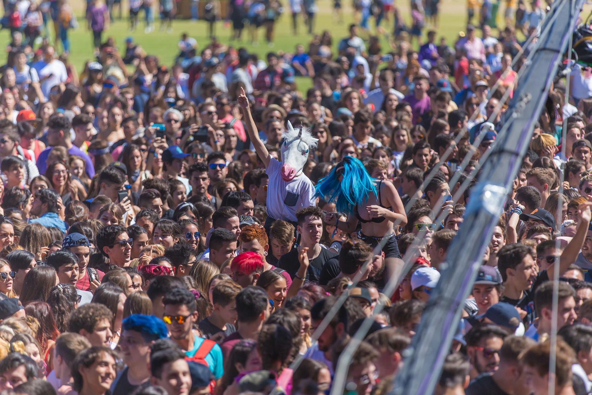 El público en la primera fecha del Lollapalooza