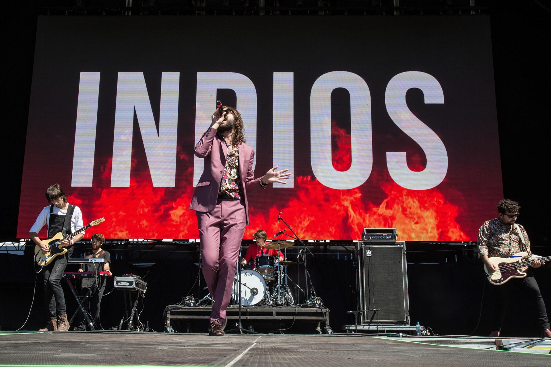 El show de Indios en Lollapalooza 2018