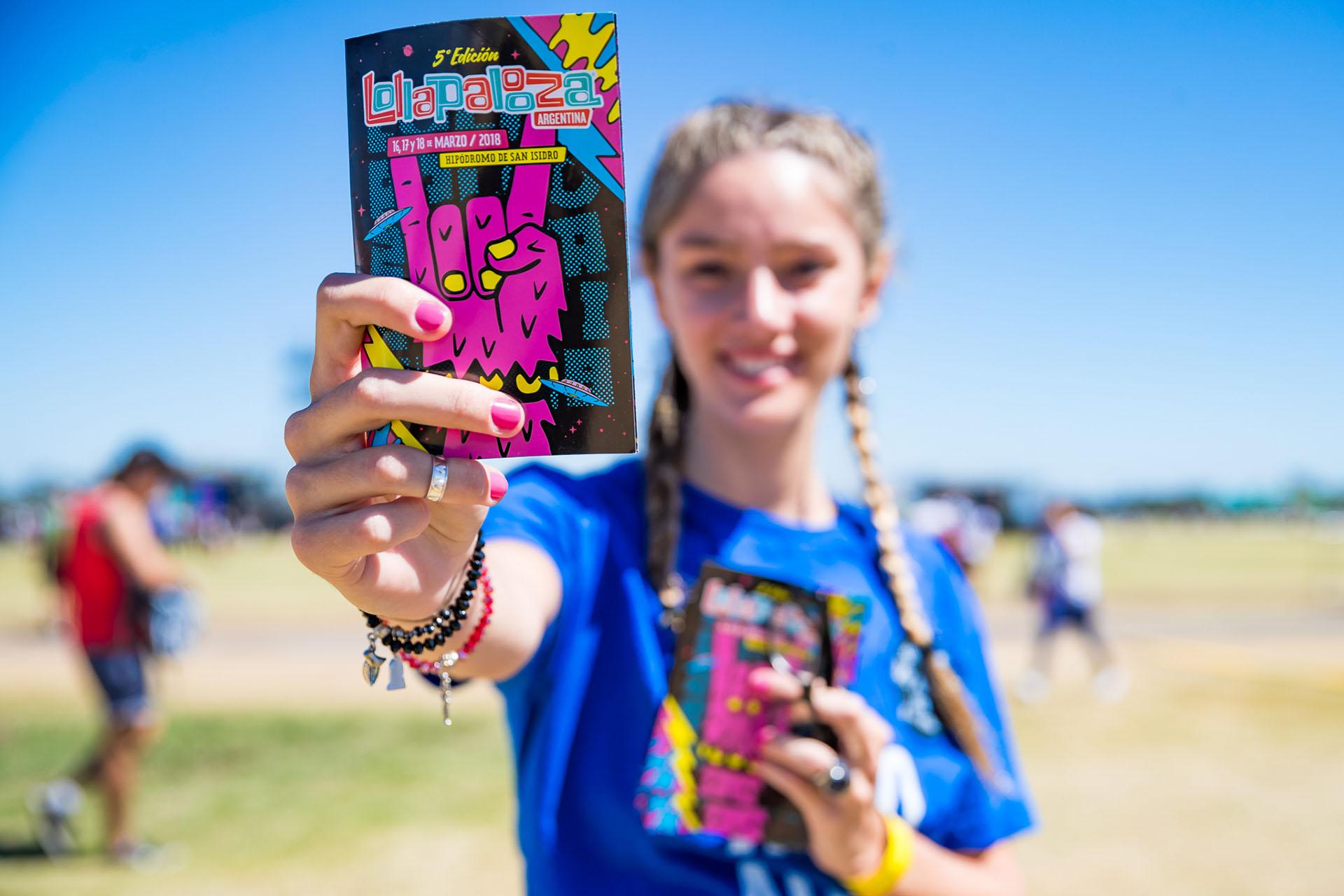 Lollapalooza en el Hipódromo de San Isidro