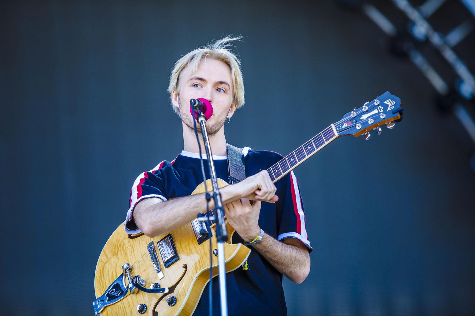 Jakob Ogawa en el Lollapalooza 2018