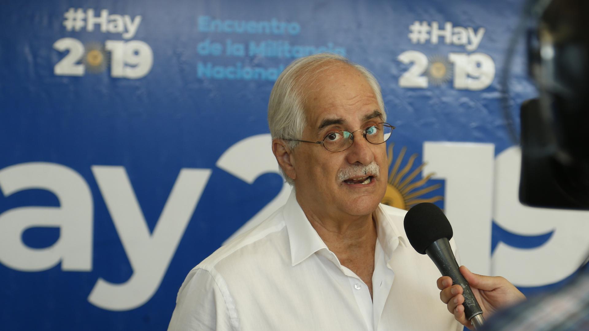 El ex canciller Jorge Taiana