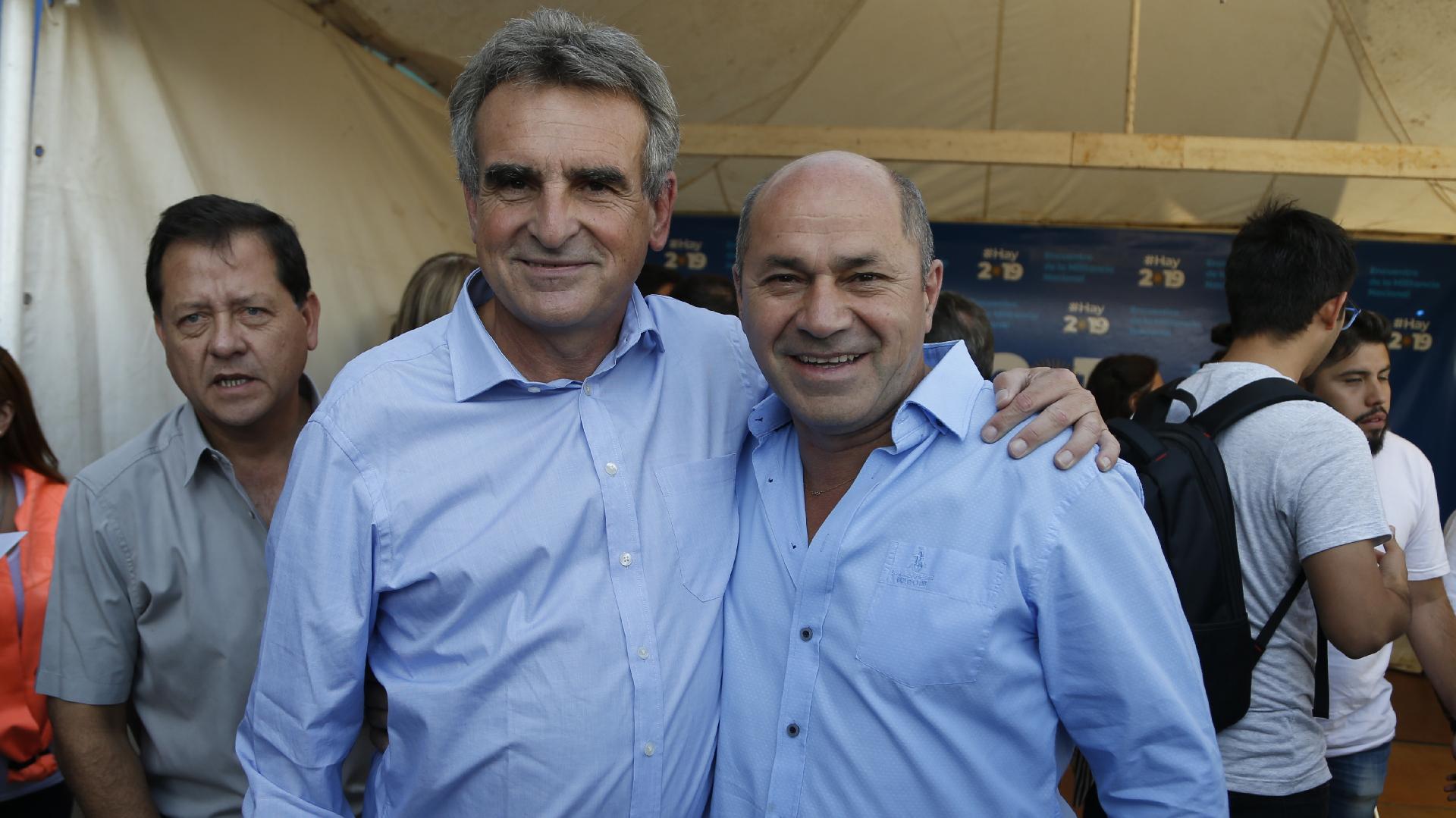 Agustín Rossi y Mario Secco