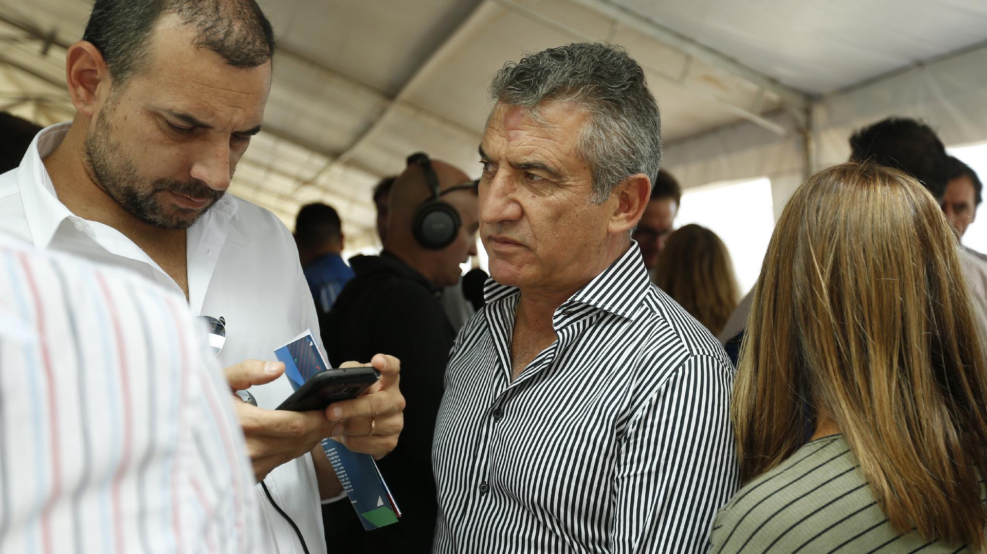 El ex gobernador de Entre Ríos, Sergio Urribarri
