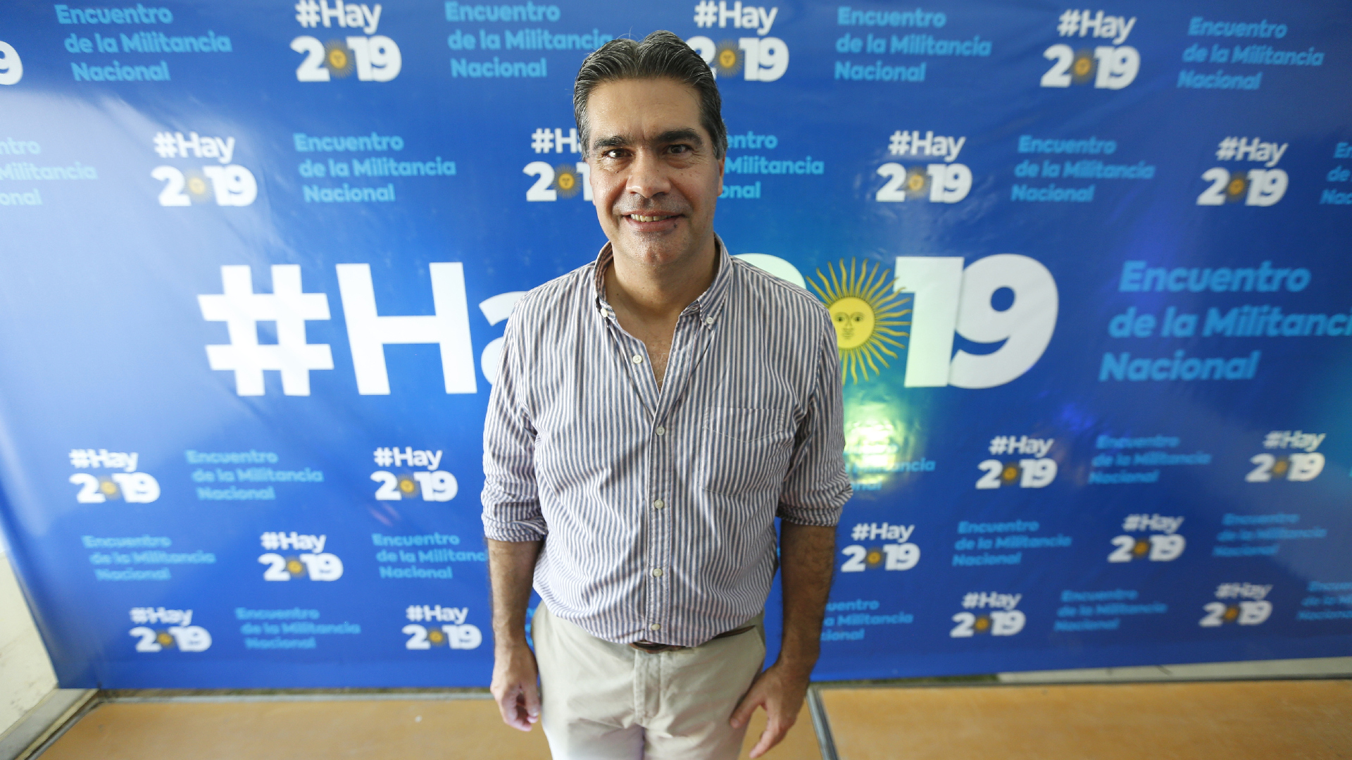 El intendente chaqueño Jorge Capitanich