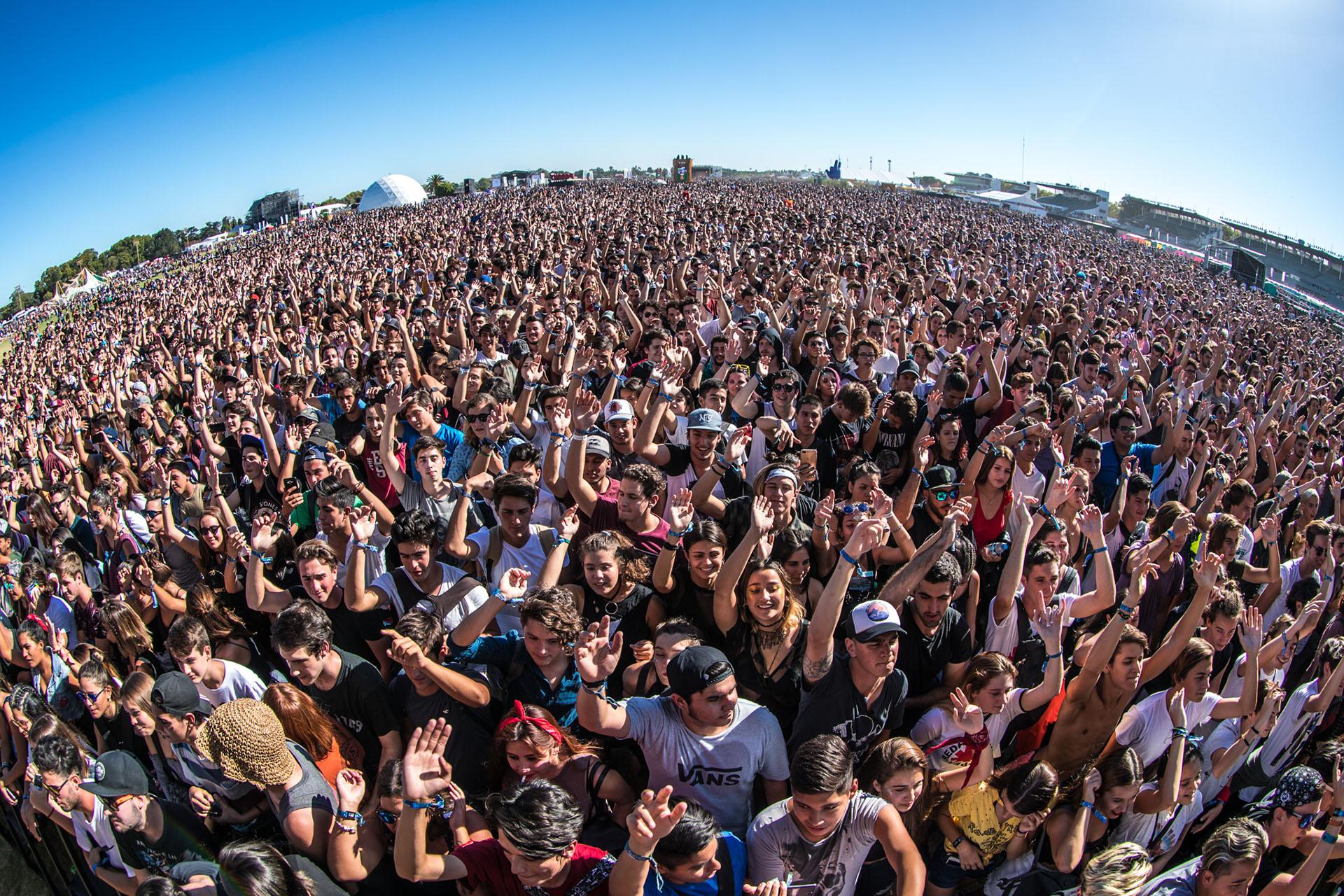 La gente colmó la primera fecha del Lollapalooza