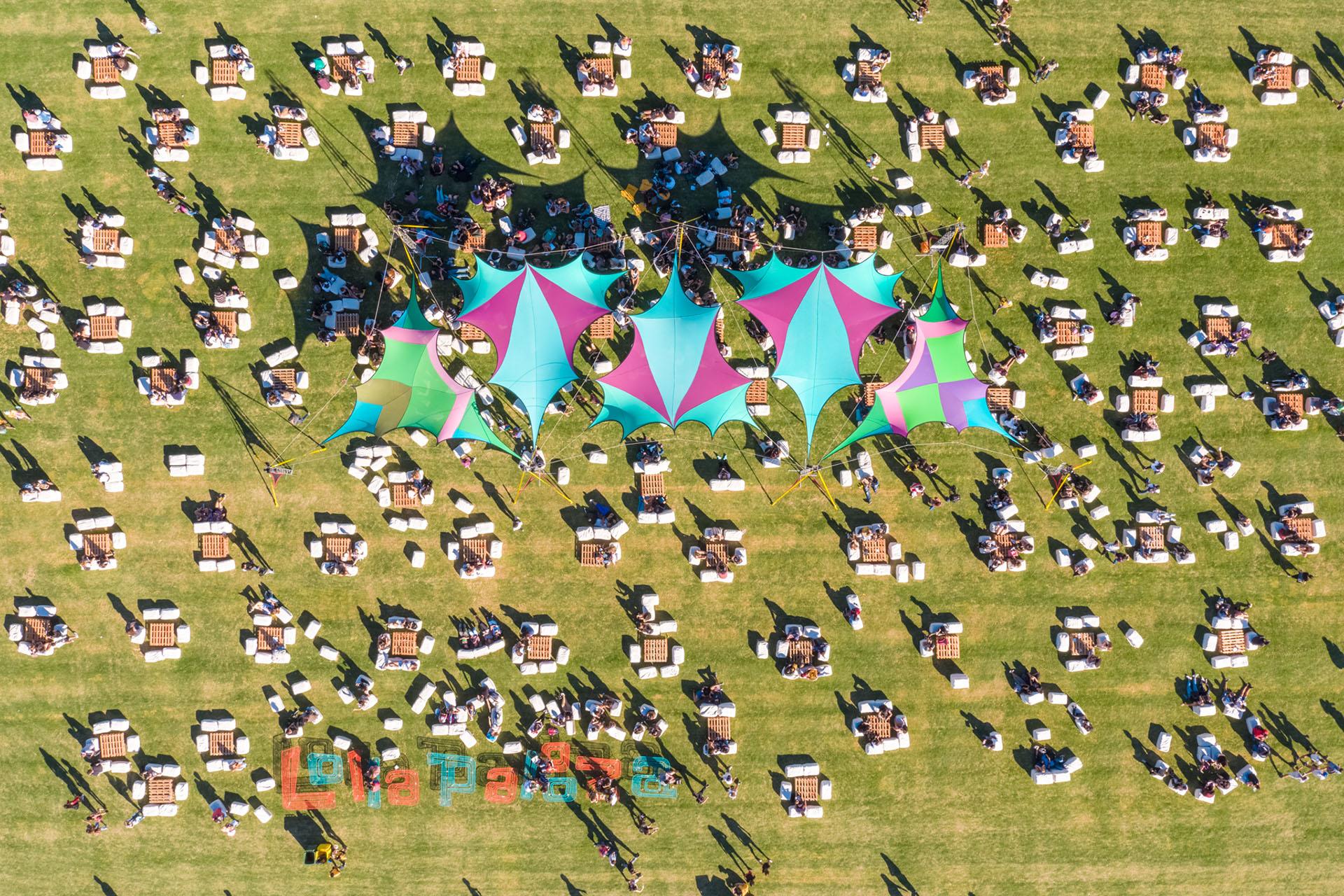 Todo el color del Lollapalooza Argentina 2018