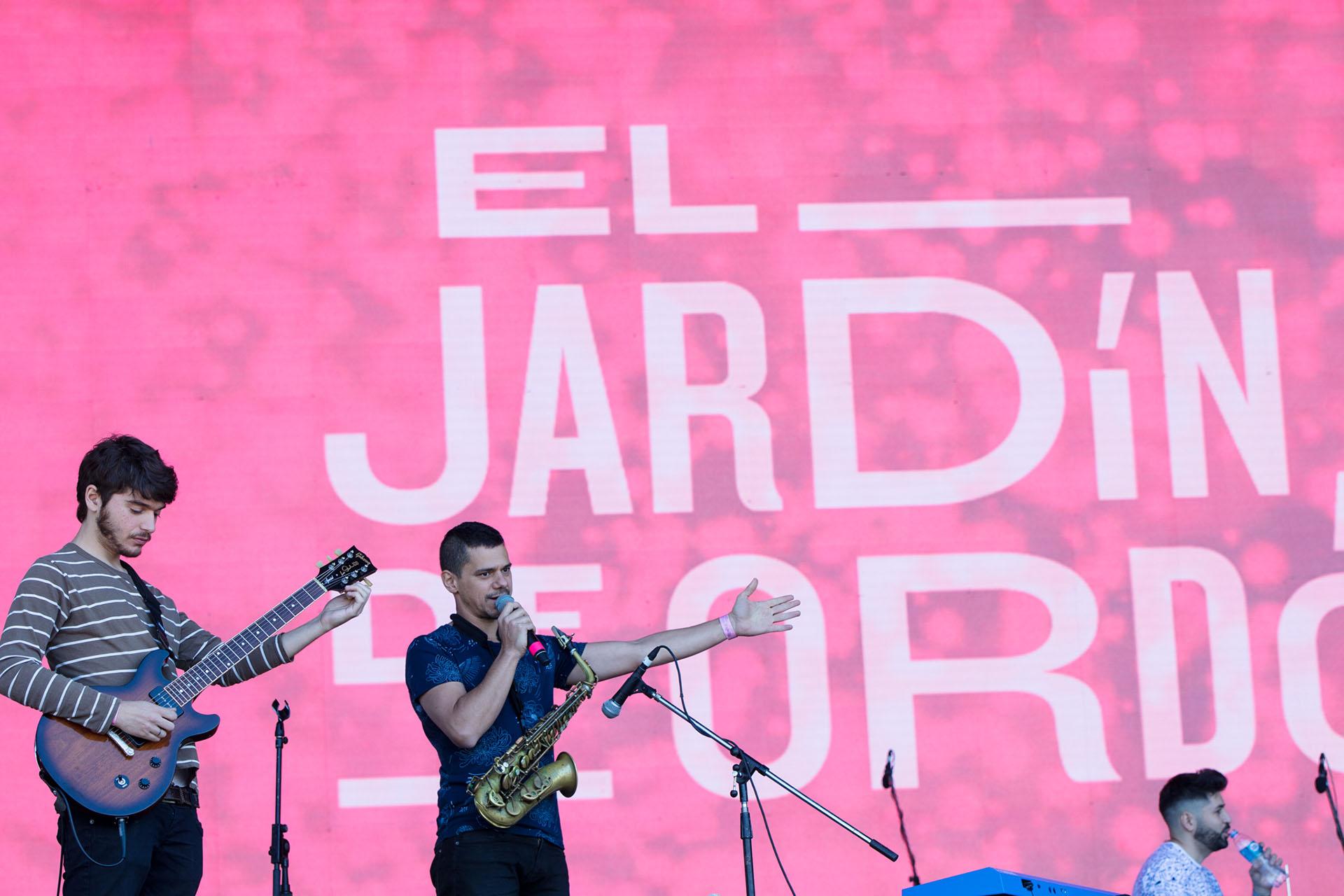 El jardín de Ordóñez en Lollapalooza 2018