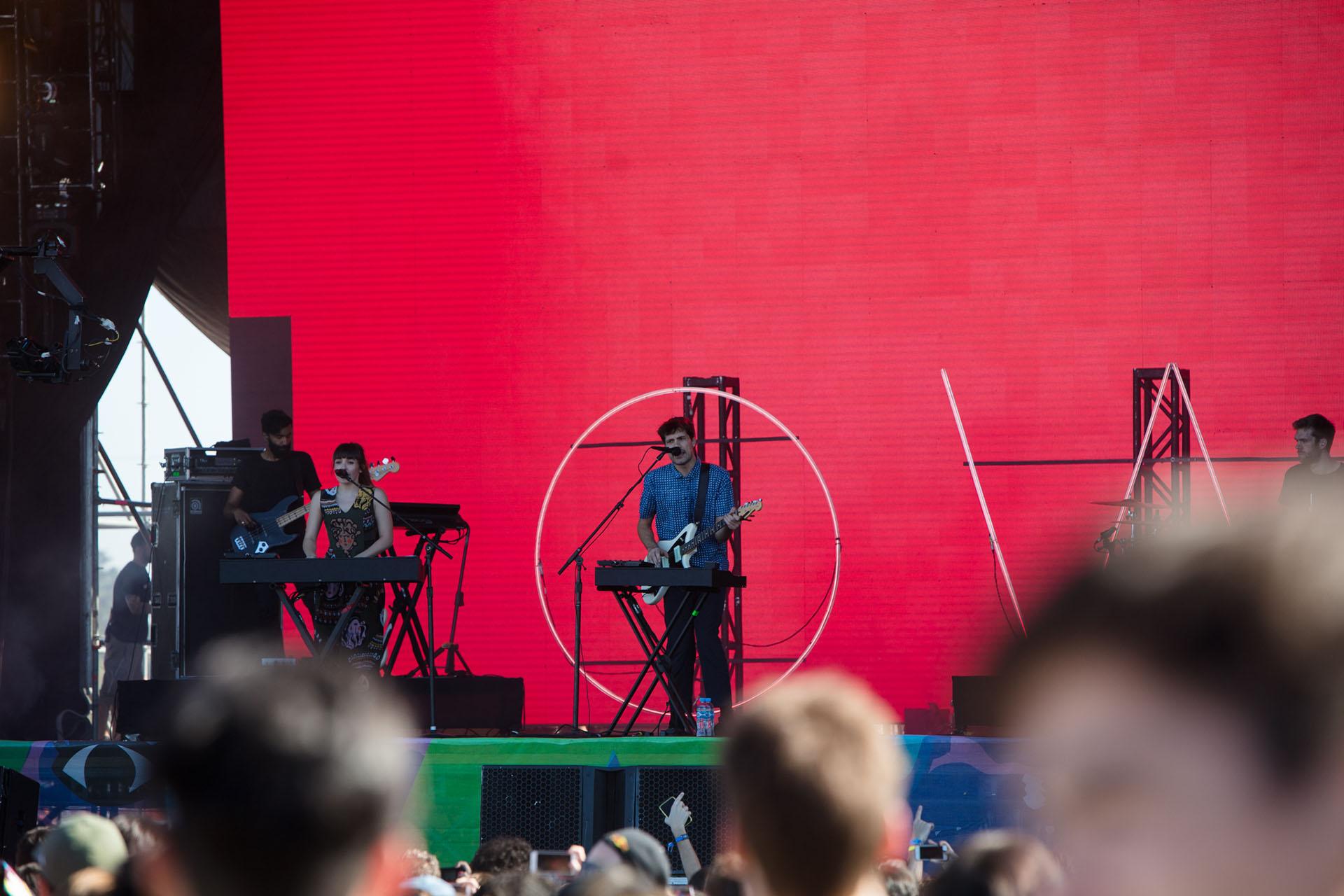 OH Wonder y su show en el Lollapalooza