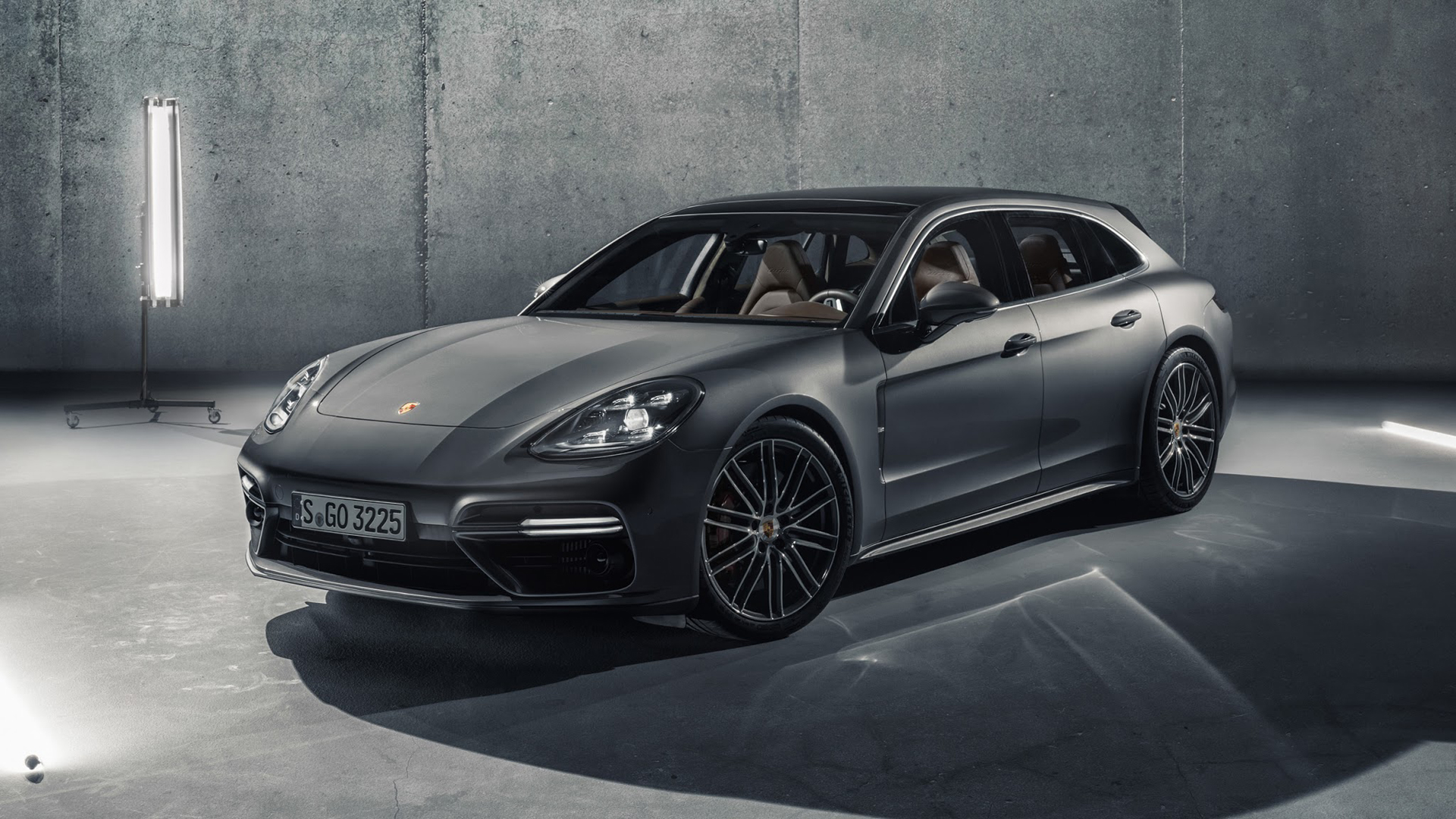 El Porsche Panamera Sport Turismo se presentó por primera vez en el Salón de Ginebra de 2017