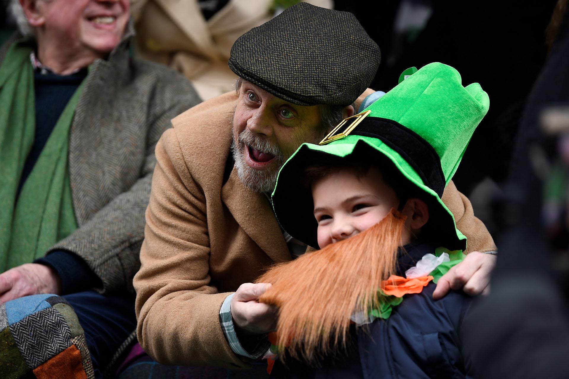 Mark Hamill en Dublin(REUTERS/Clodagh Kilcoyne)