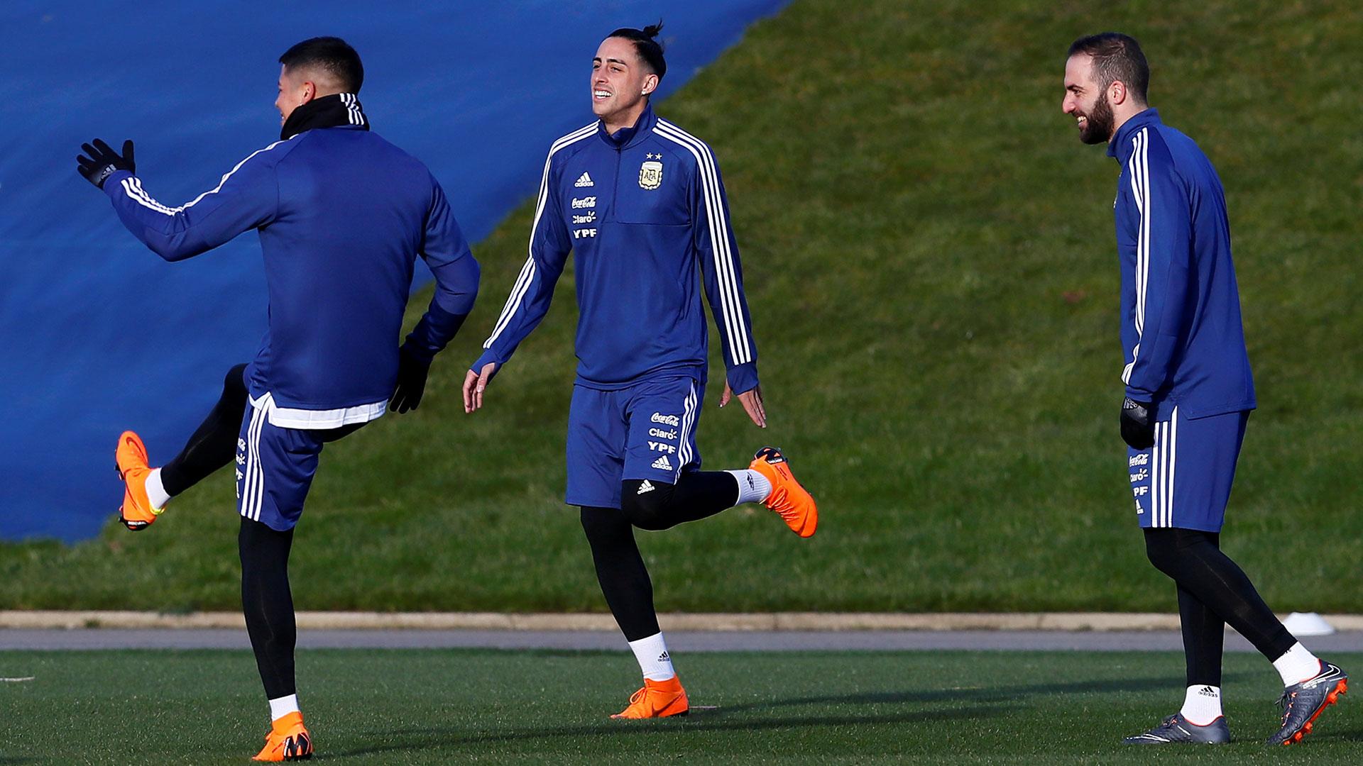 Rogelio Funes Mori, Marcos Rojo e Higuaín son tres de los históricos que volvieron a recibir el llamado a la Selección