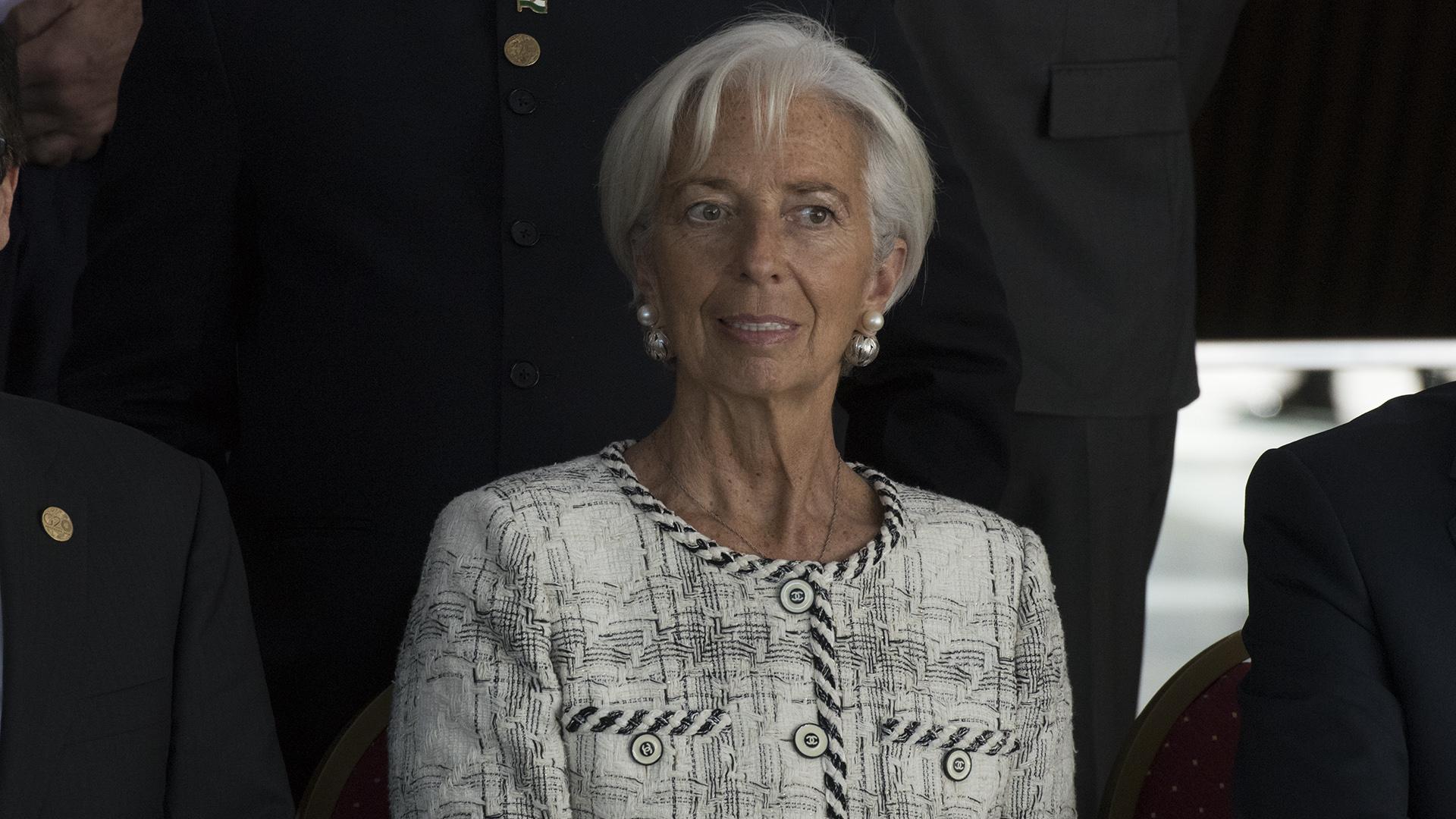 Christine Lagarde del FMI (Adrián Escandar)