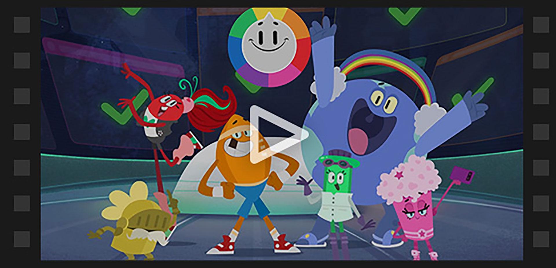 Preguntados salta a la pantalla de tevé este año con una serie animada para chicos