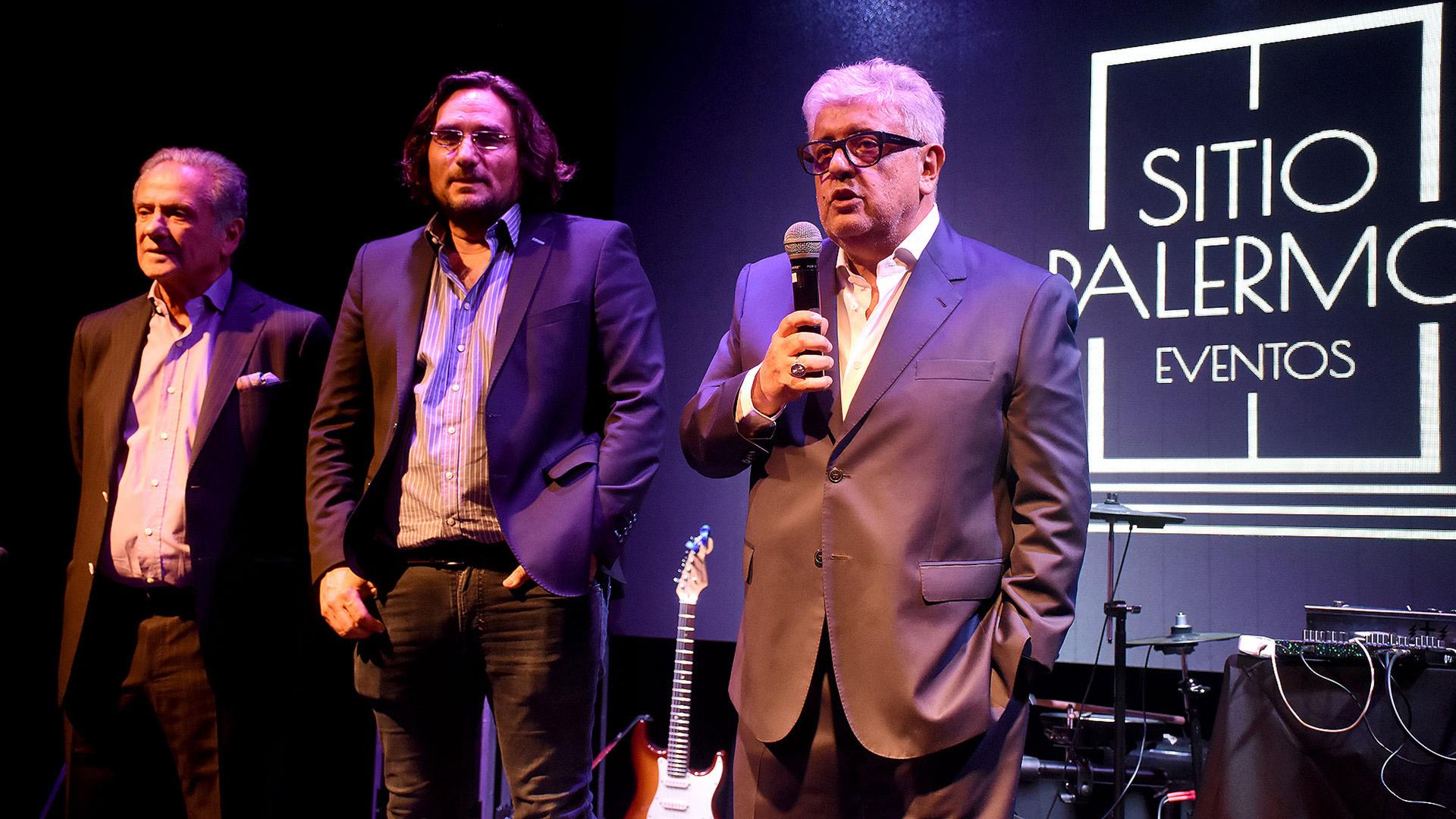 """Beto Vijnovsky, Martín Kweller y Carlos Gorosito, propietarios de """"89.9 FM Radio con Vos"""""""