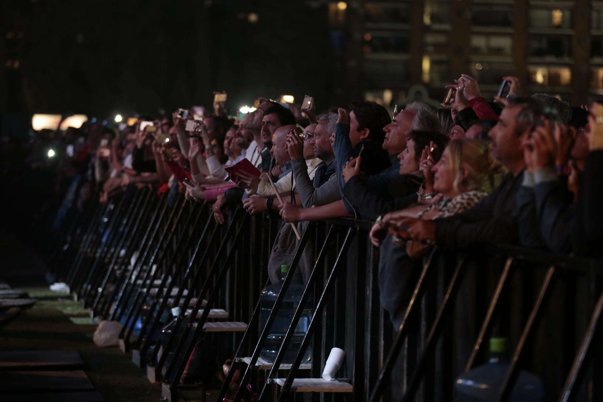 Más de 50 mil personas disfrutaron del show del cantante